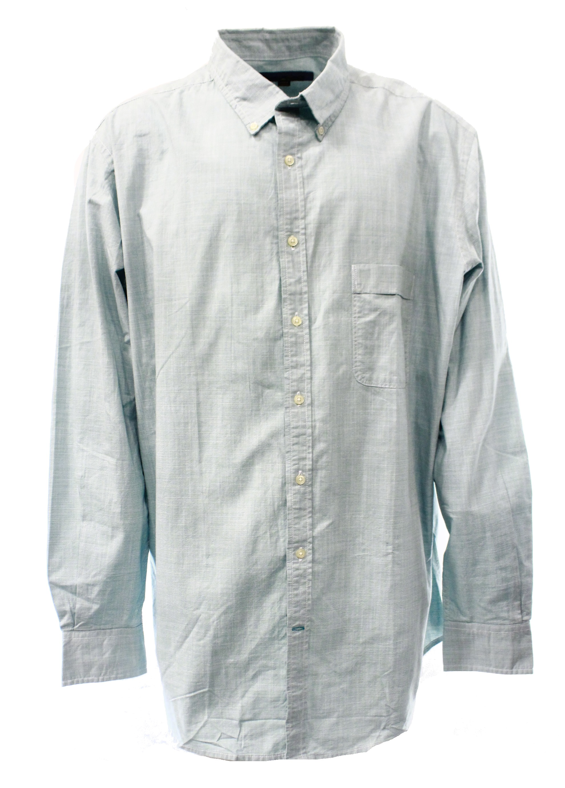 Club Room New Seafoam Teal Green Mens Size 2xlt Button