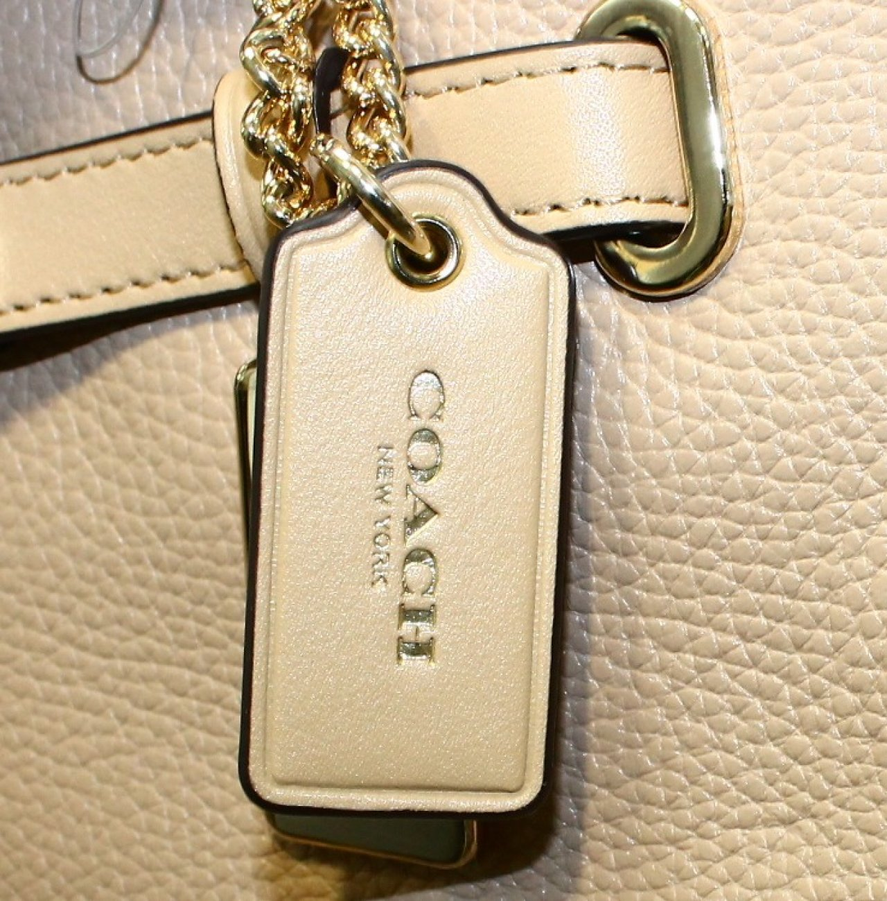 coach small bags outlet  coach beige nude polished