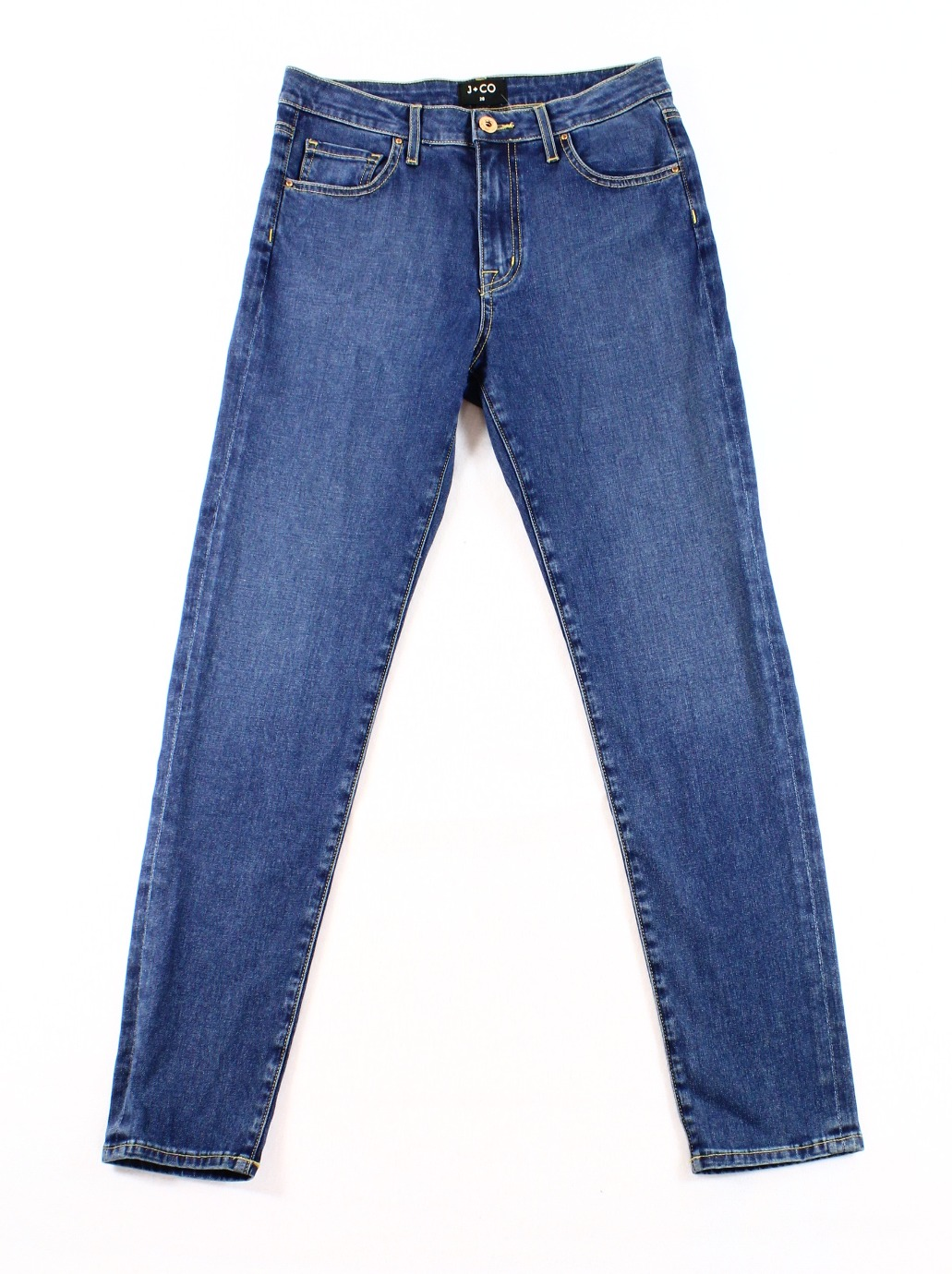 J-Co-NEW-Womens-Size-28X27-Crop-Ankle-Slim-Skinny-Denim-Jeans-98-DEAL