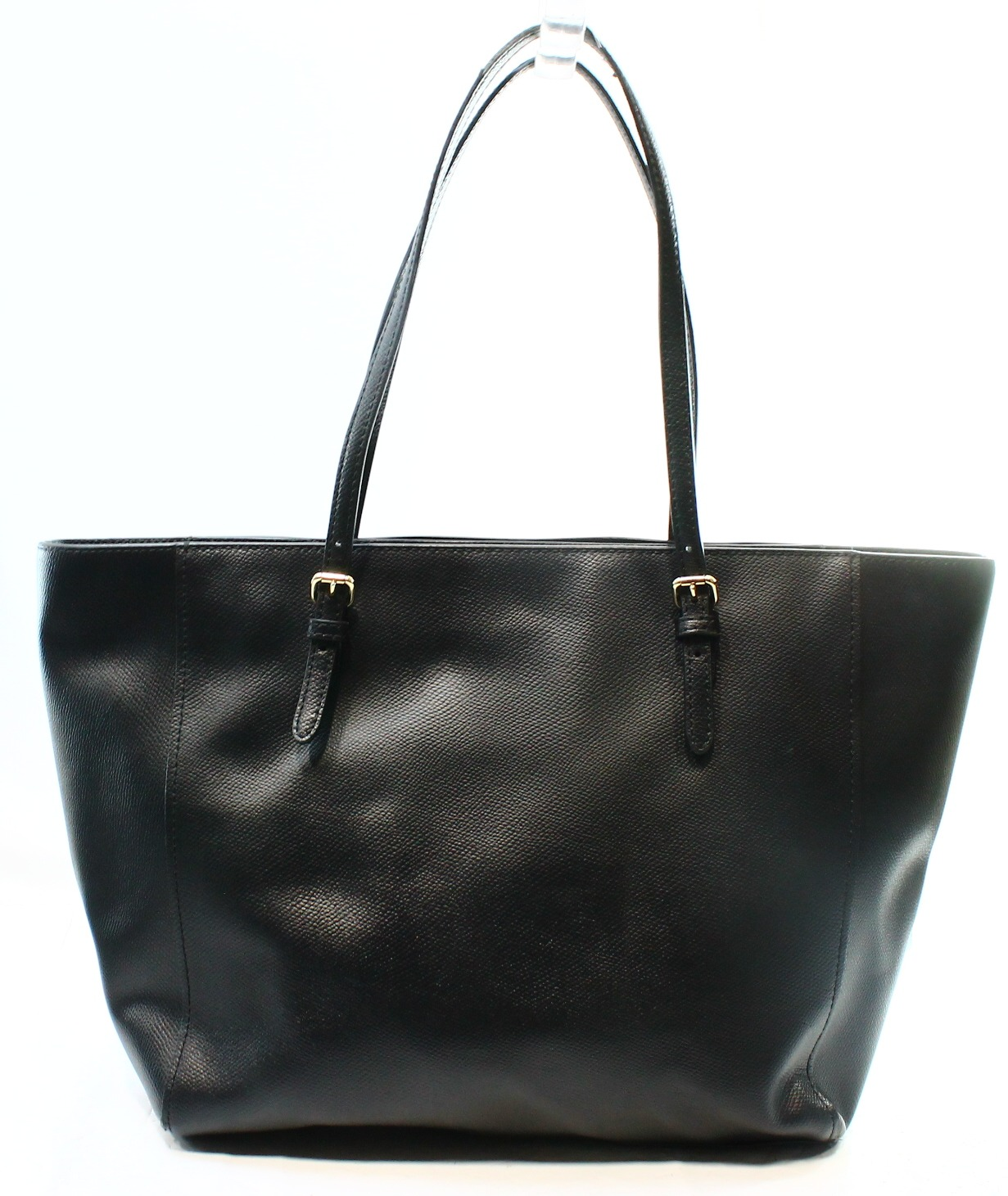 Coach Tote Bag Black Leather