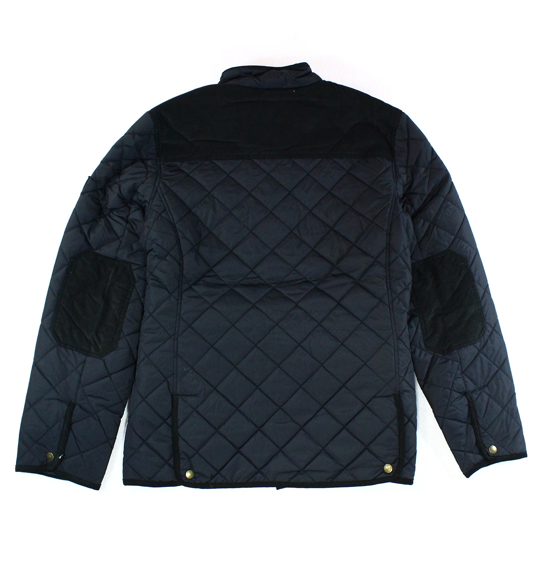 Chaps NEW Mens Corduroy Trim Quilted Puffer Utility Jacket ...