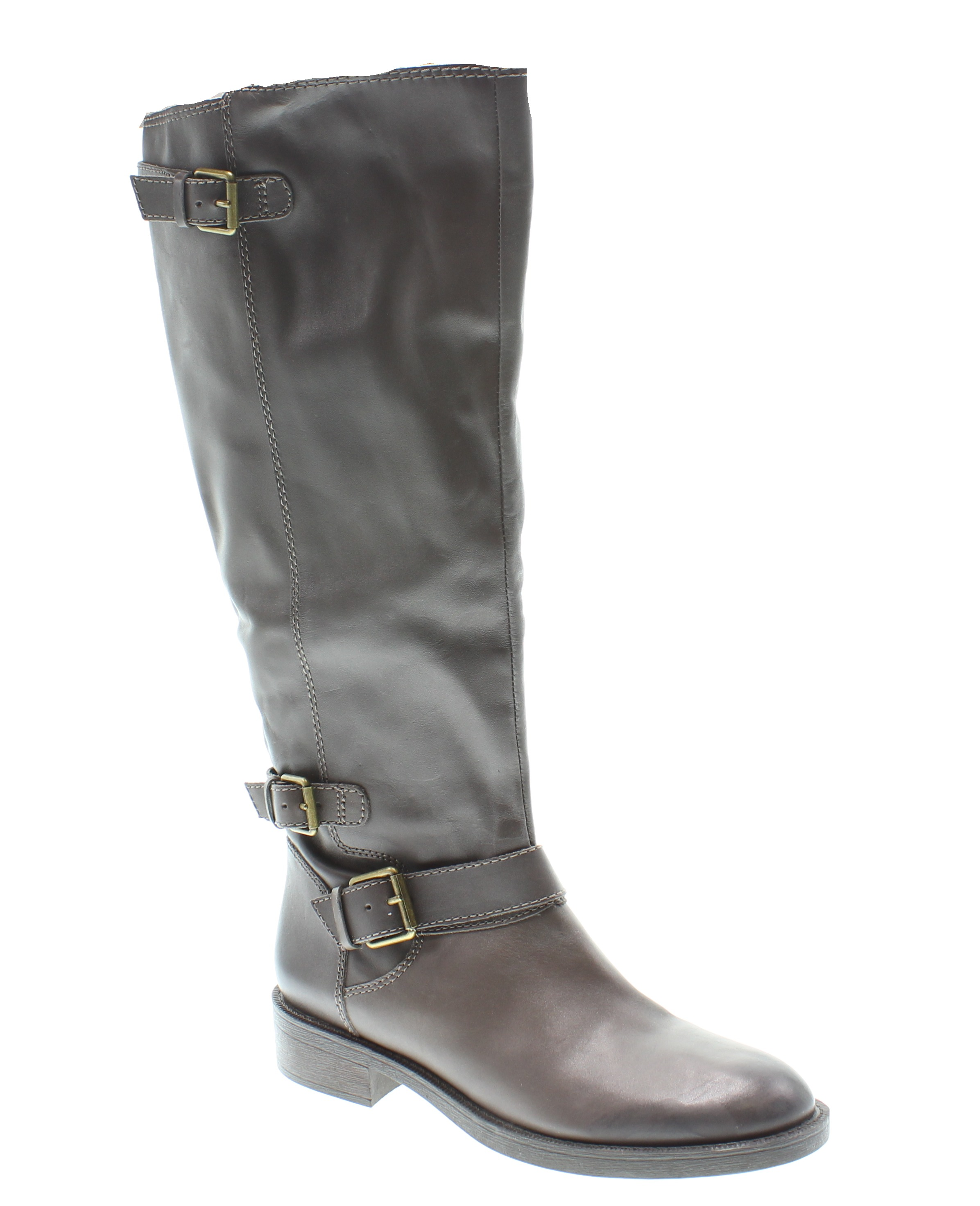 enzo angiolini new gray shoes wide calf 9 5m knee high