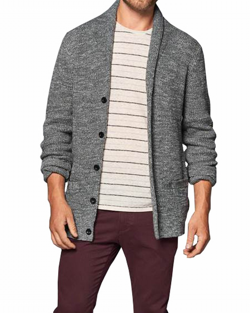 Abercrombie-and-Fitch-Mens-Sweater-NEW-Heather-Shawl-Collared-Cardigan-78