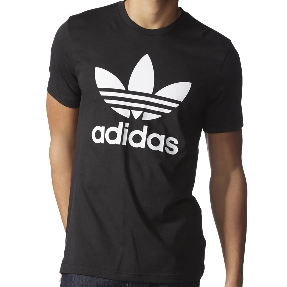 Adidas Mens Original Crewneck Graphic Tee