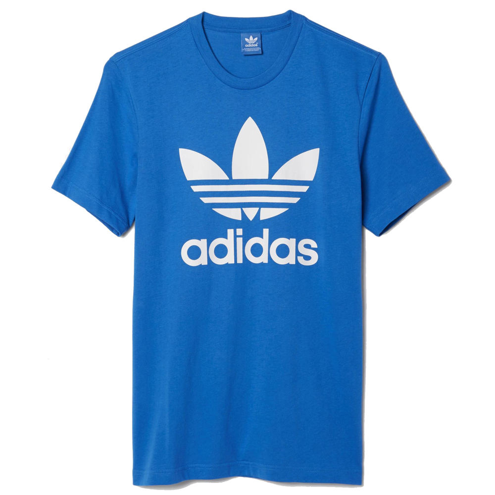 adidas new mens original crewneck graphic tee trefoil t. Black Bedroom Furniture Sets. Home Design Ideas