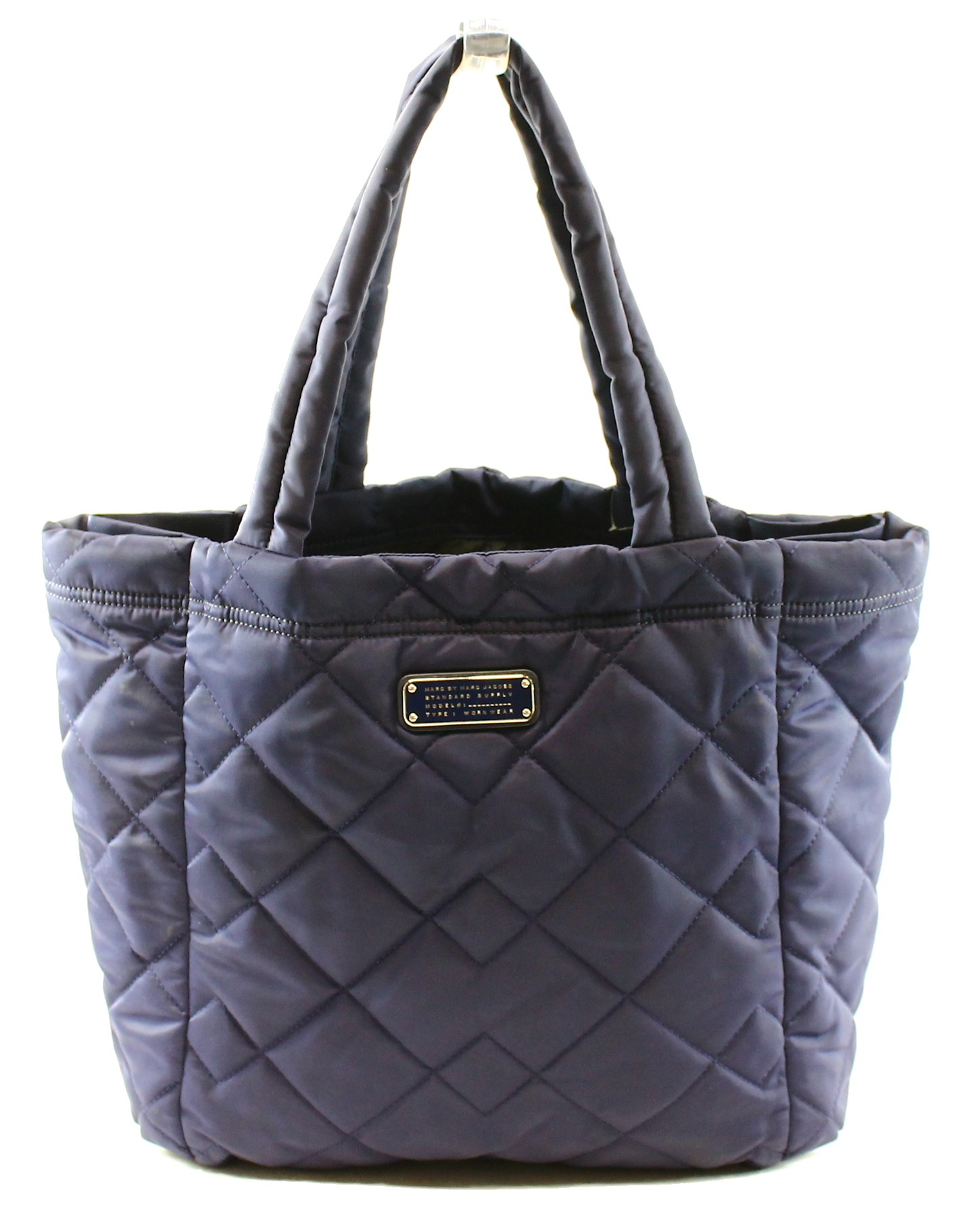5f309796f Marc by Marc Jacobs NEW Blue Indian Ink Women's Quilted Nylon ...