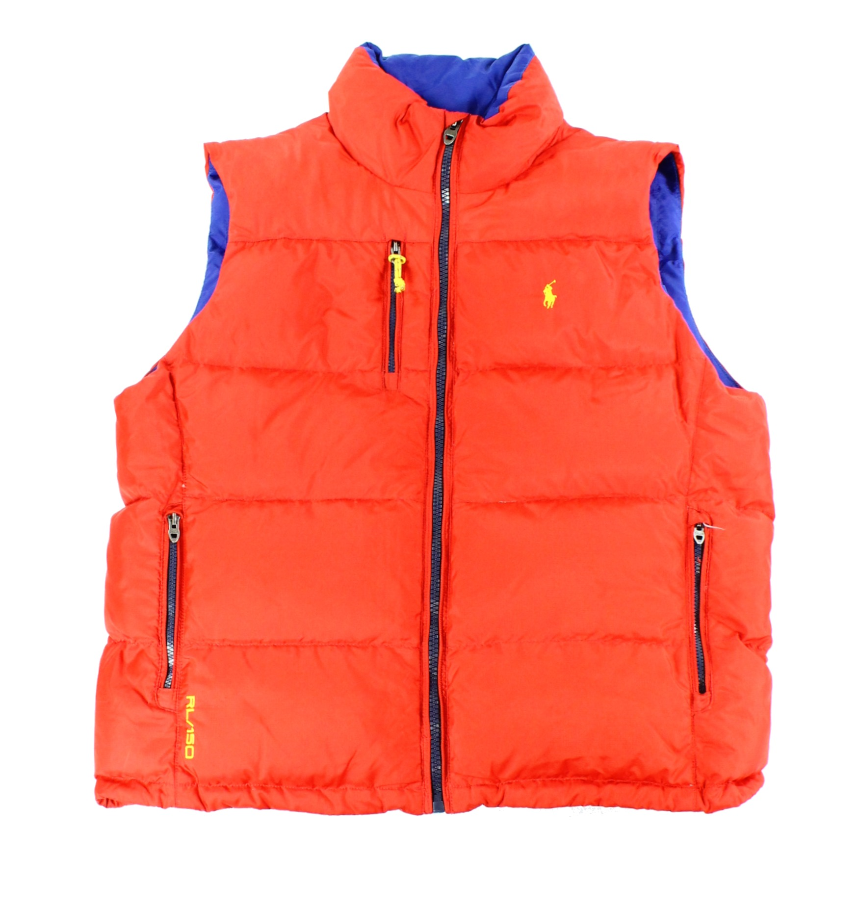 Polo Ralph Lauren New Red Mens Us Size Xl Quilted Puffer