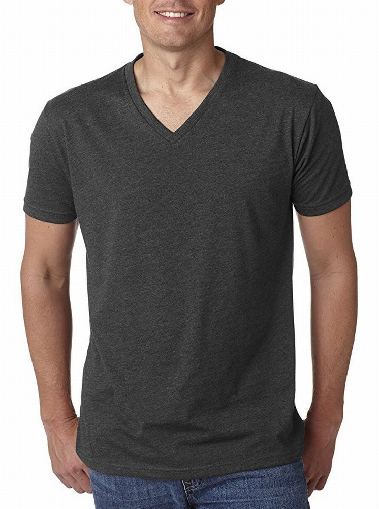 true rock new mens classic v neck cotton basic essential. Black Bedroom Furniture Sets. Home Design Ideas