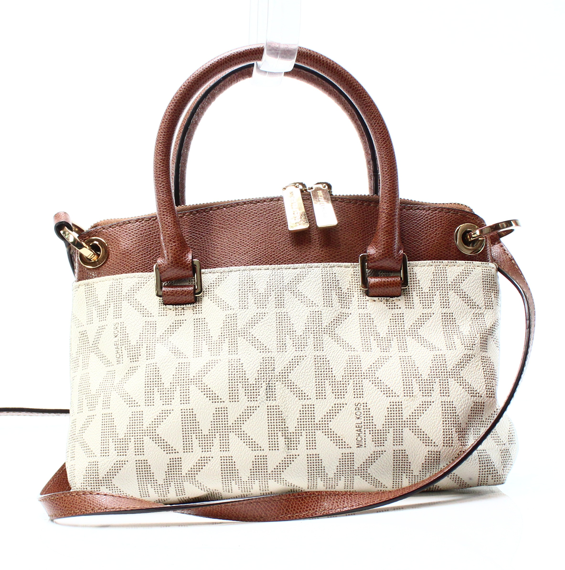 7a4f47bd1380a6 Michael Kors White Backpack Purse | Stanford Center for Opportunity ...