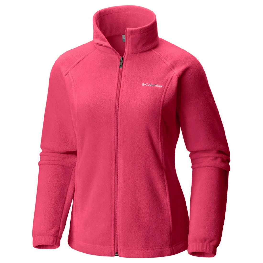 Columbia New Women's Original Mock Neck Zip Up Warm Winter Fleece Jacket