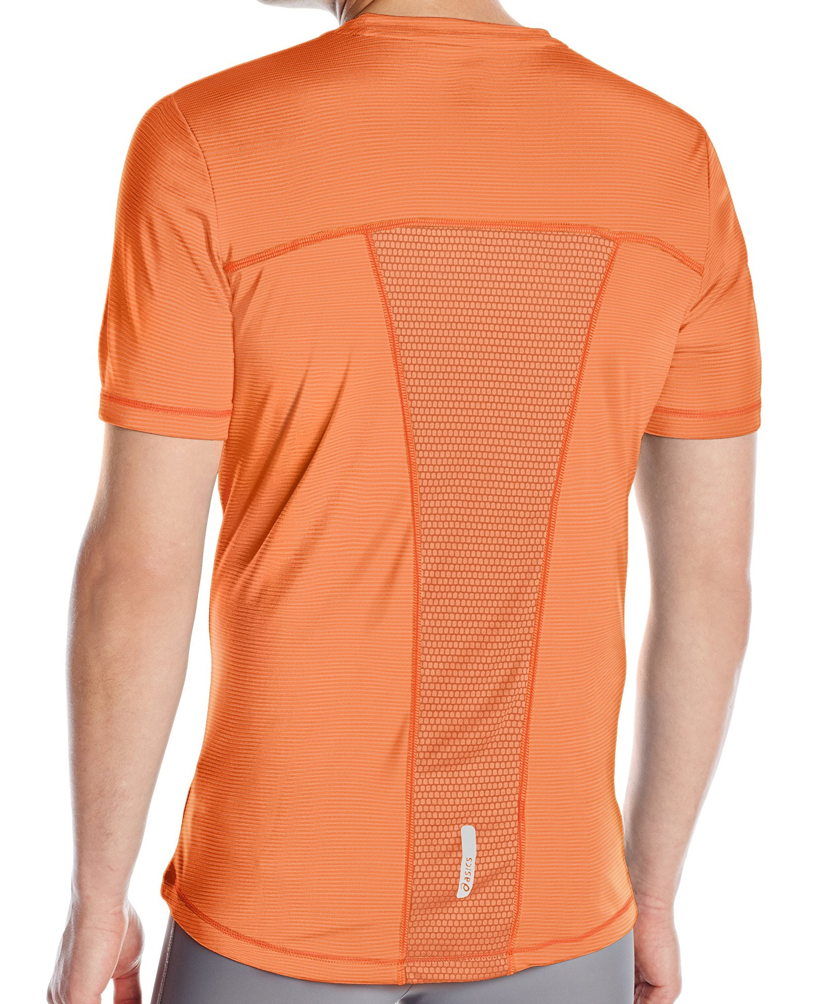 Asics-NEW-Striped-Mens-Shosha-Performance-Short-Sleeve-Tee-T-Shirt-40 thumbnail 12