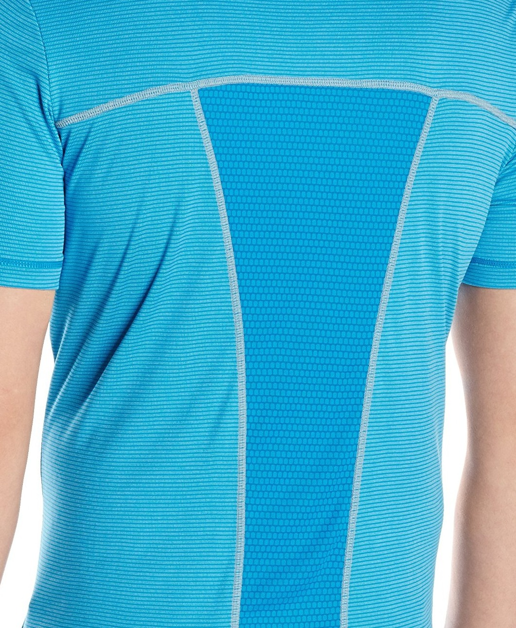 Asics-NEW-Striped-Mens-Shosha-Performance-Short-Sleeve-Tee-T-Shirt-40 thumbnail 5