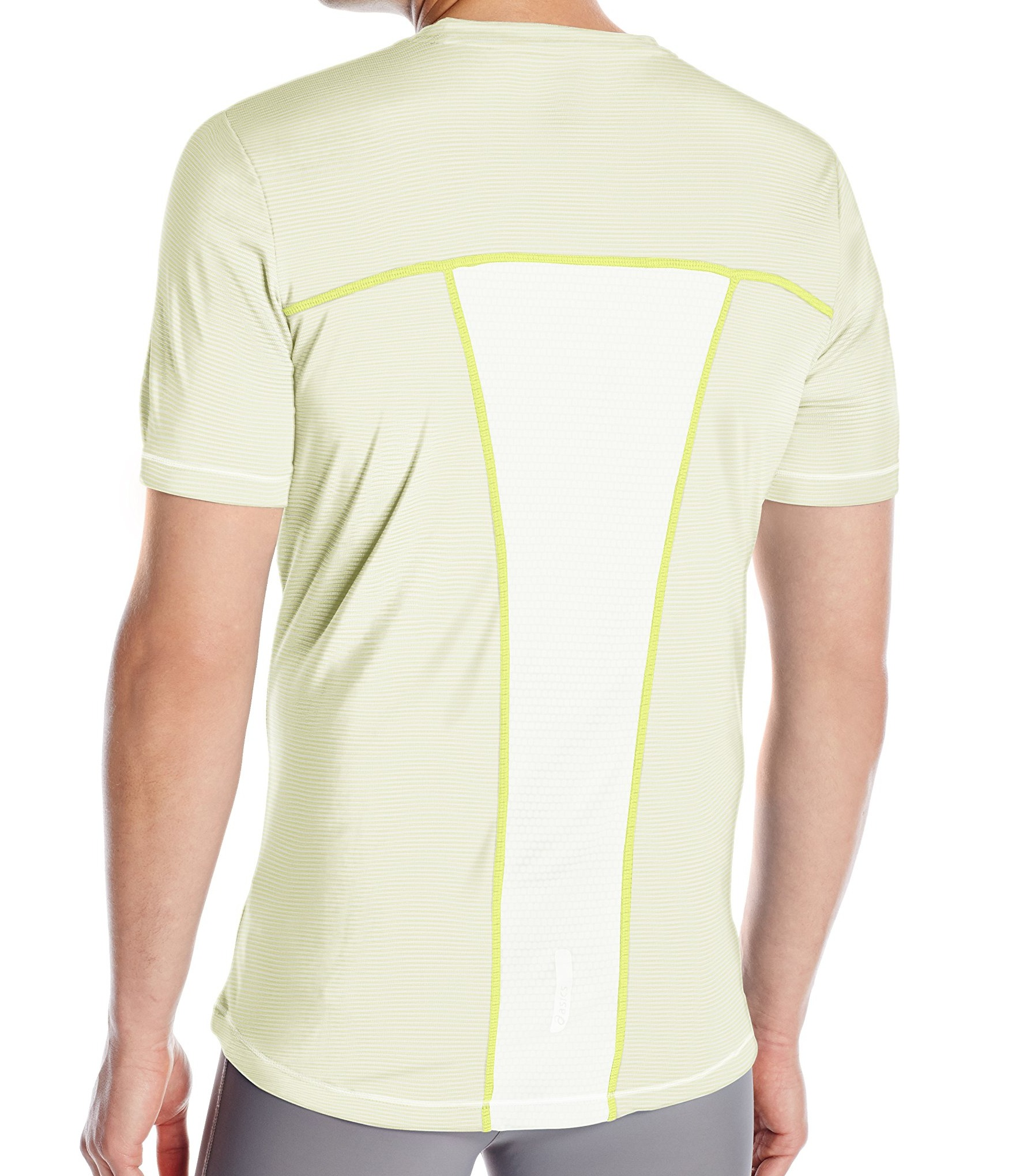 Asics-NEW-Striped-Mens-Shosha-Performance-Short-Sleeve-Tee-T-Shirt-40 thumbnail 8