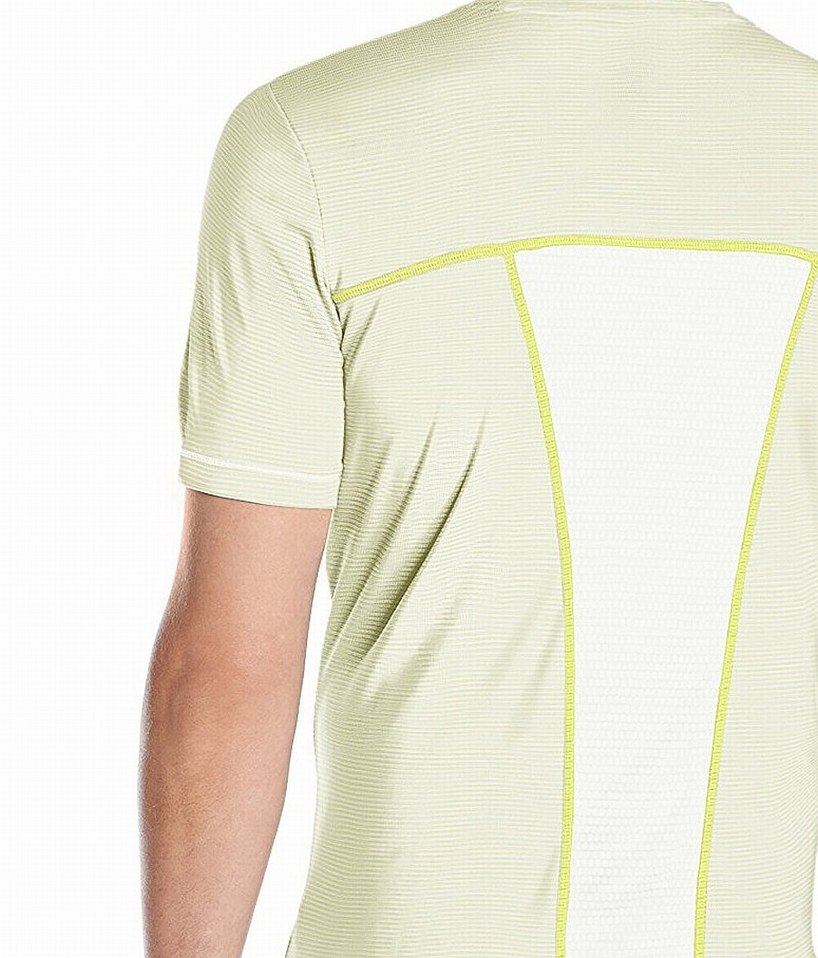 Asics-NEW-Striped-Mens-Shosha-Performance-Short-Sleeve-Tee-T-Shirt-40 thumbnail 9