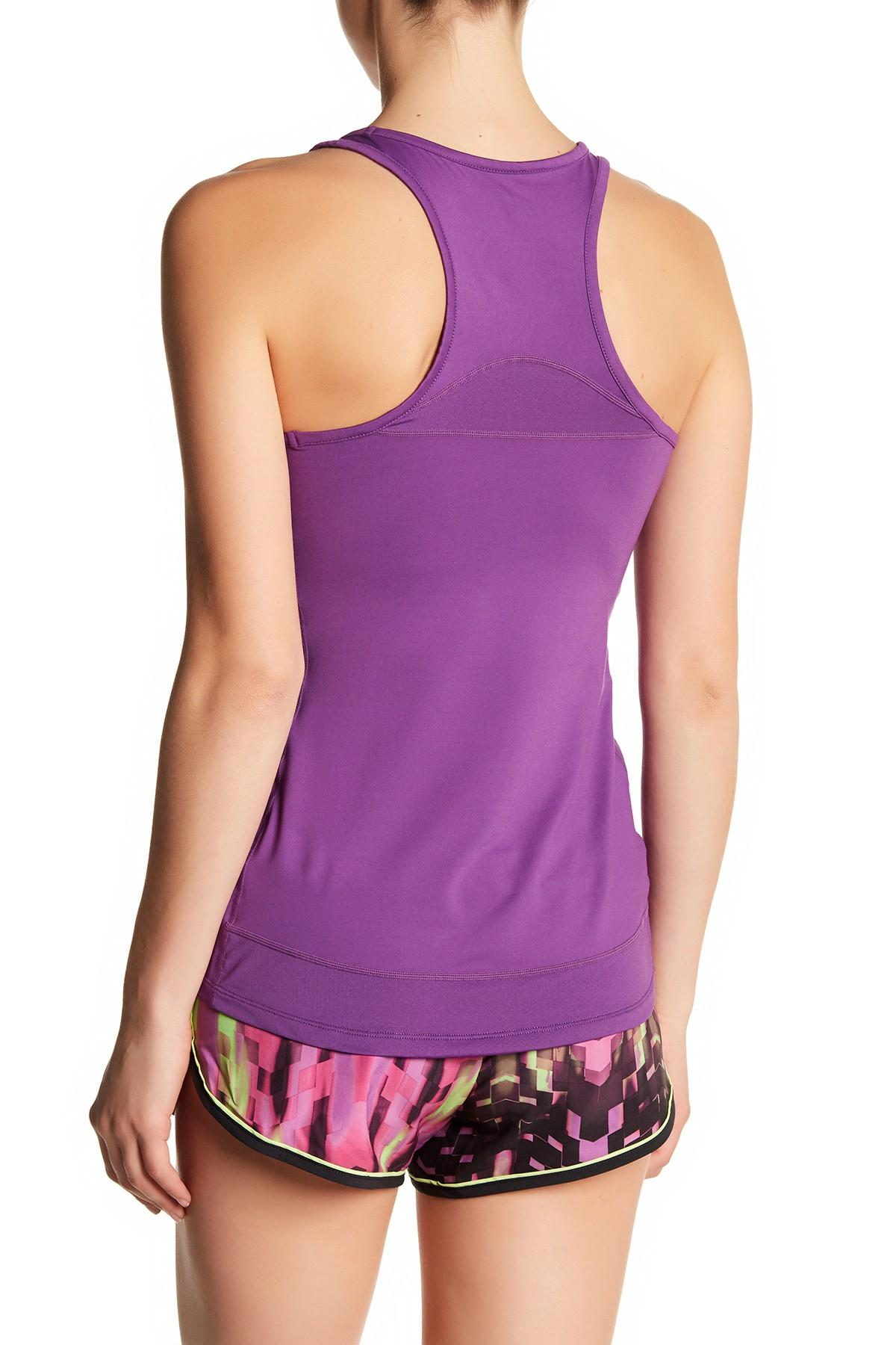 Asics-NEW-Solid-Tone-Women-039-s-Performance-Racerback-ASX-Dry-Tank-Top thumbnail 7