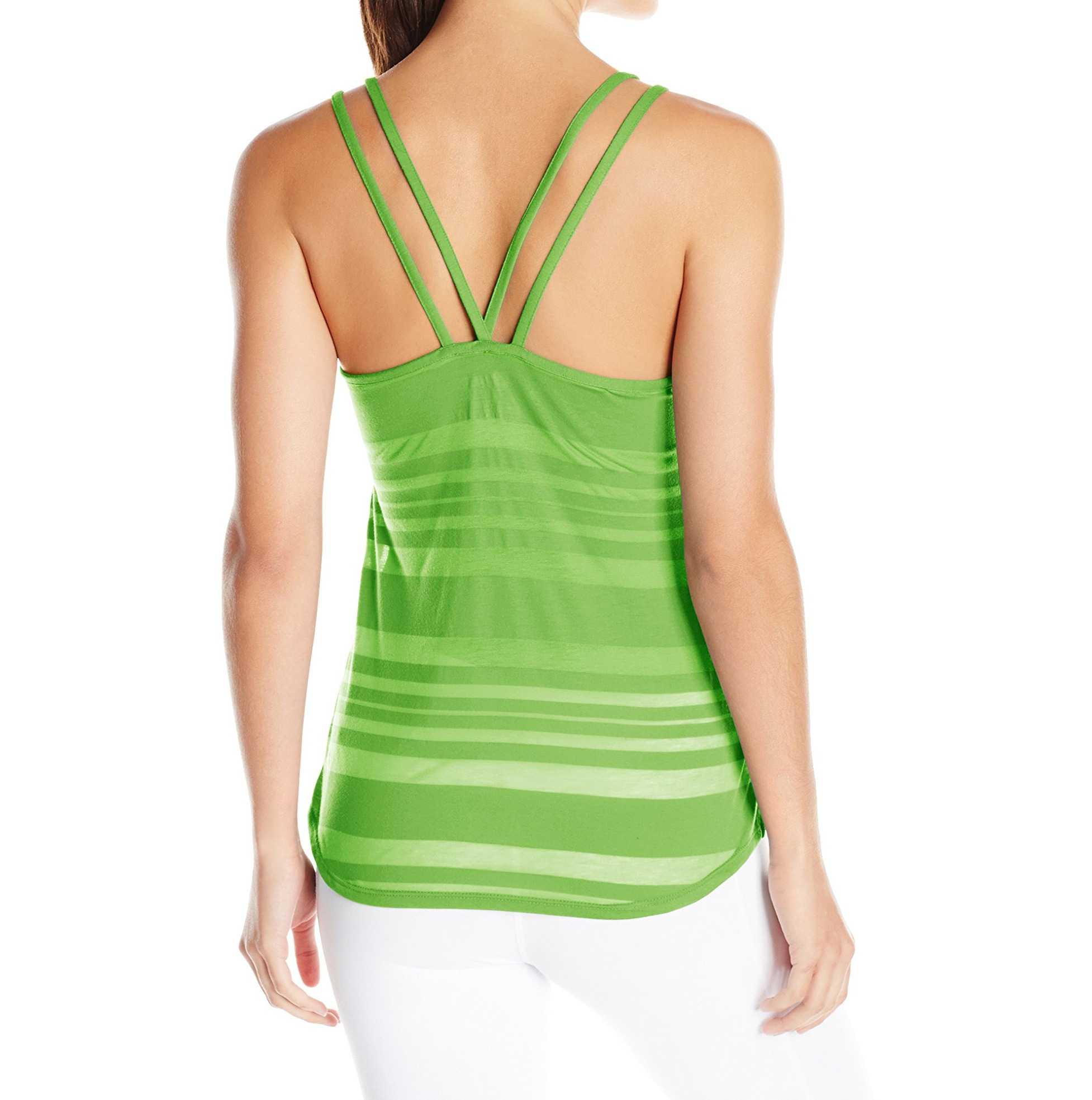 Asics-NEW-Solid-Women-039-s-Slub-Knit-Performance-Scoop-Neck-Tank-Top thumbnail 14