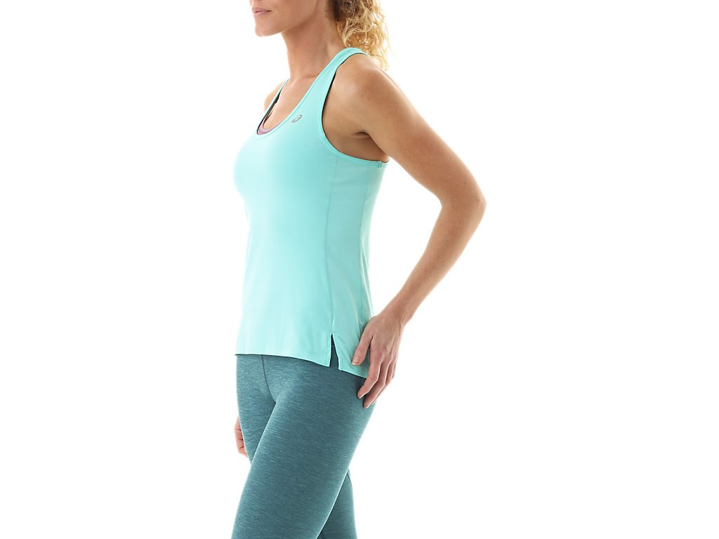 Asics-NEW-Solid-Tone-Women-039-s-Performance-Racerback-ASX-Dry-Tank-Top thumbnail 18