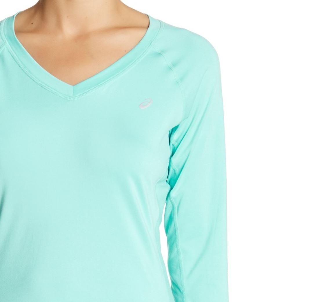 Asics-NEW-Monotone-Women-039-s-Performance-ASX-Dry-Long-Sleeve-Top-42 thumbnail 4