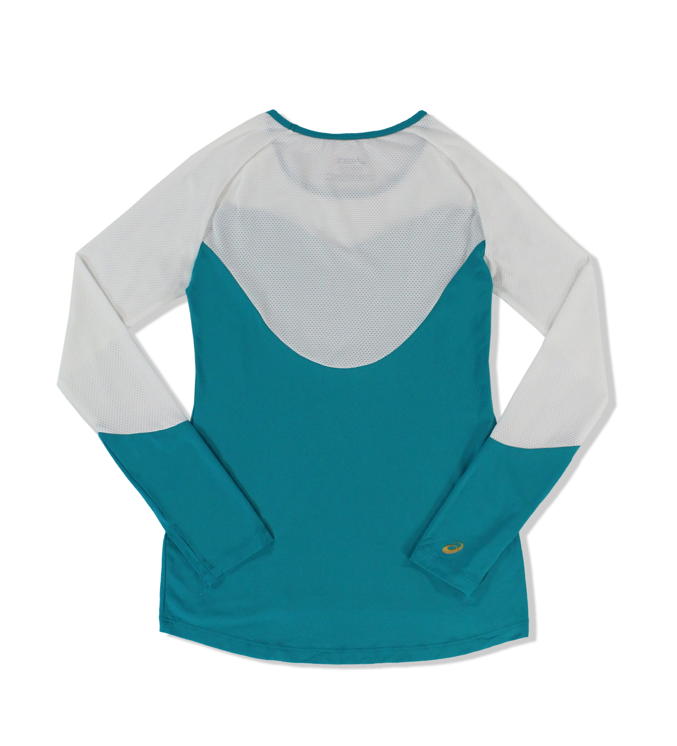 Asics-NEW-Colorblock-Women-039-s-Active-Training-Long-Sleeve-Performance-Top thumbnail 9