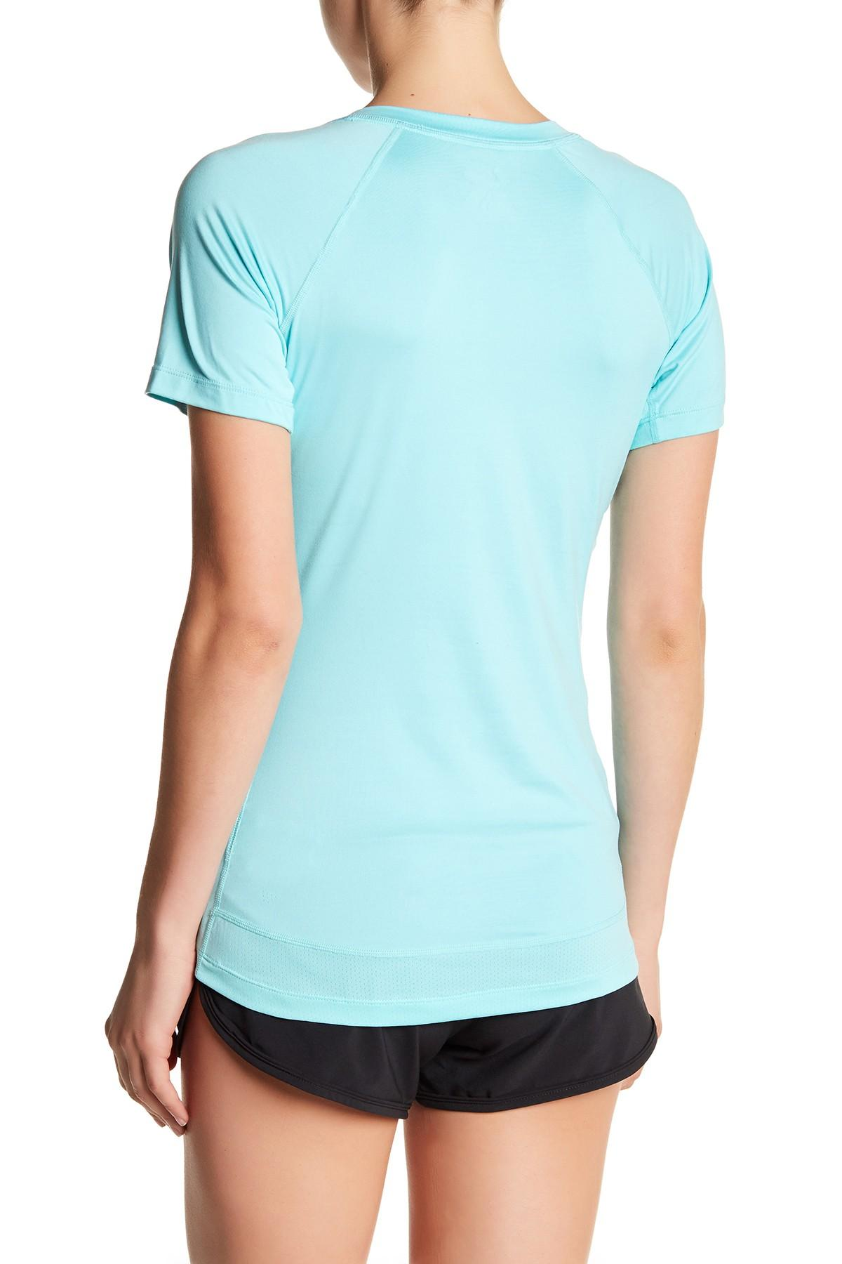 Asics-NEW-Solid-Hue-Women-039-s-V-Neck-Performance-ASX-Dry-T-Shirt-Top-38 thumbnail 3