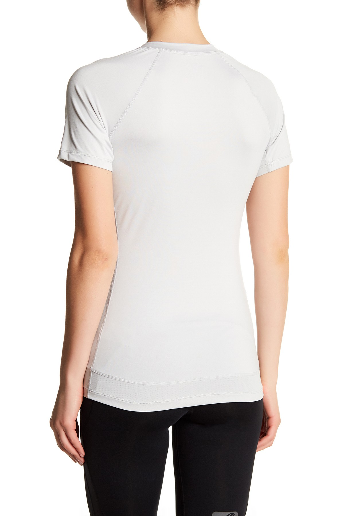 Asics-NEW-Solid-Hue-Women-039-s-V-Neck-Performance-ASX-Dry-T-Shirt-Top-38 thumbnail 8