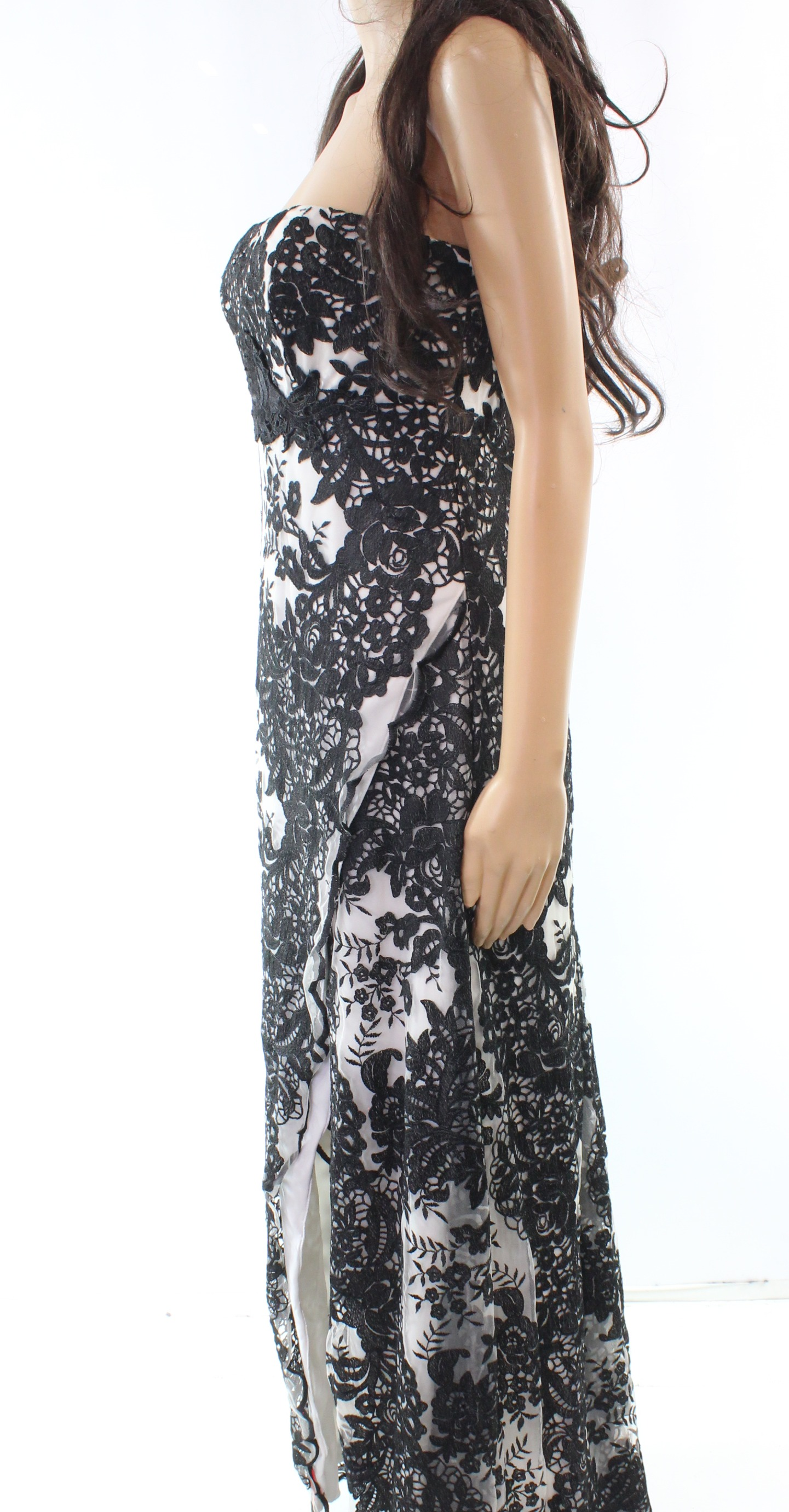ec04a2d3503 RETAIL PRICE $795.00 BEST PRICE GUARANTEED! Brand:Marchesa Notte  Condition:Pre-owned. Category:Dresses Color: Blacks Size Type: Regular Size  (Women's): 8