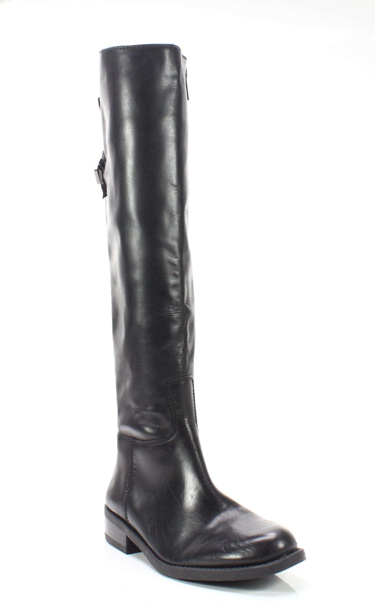 69936eeed873 Vince Camuto NEW Black Women s Size 5M Kadia Leather Knee High Boots  198-   015