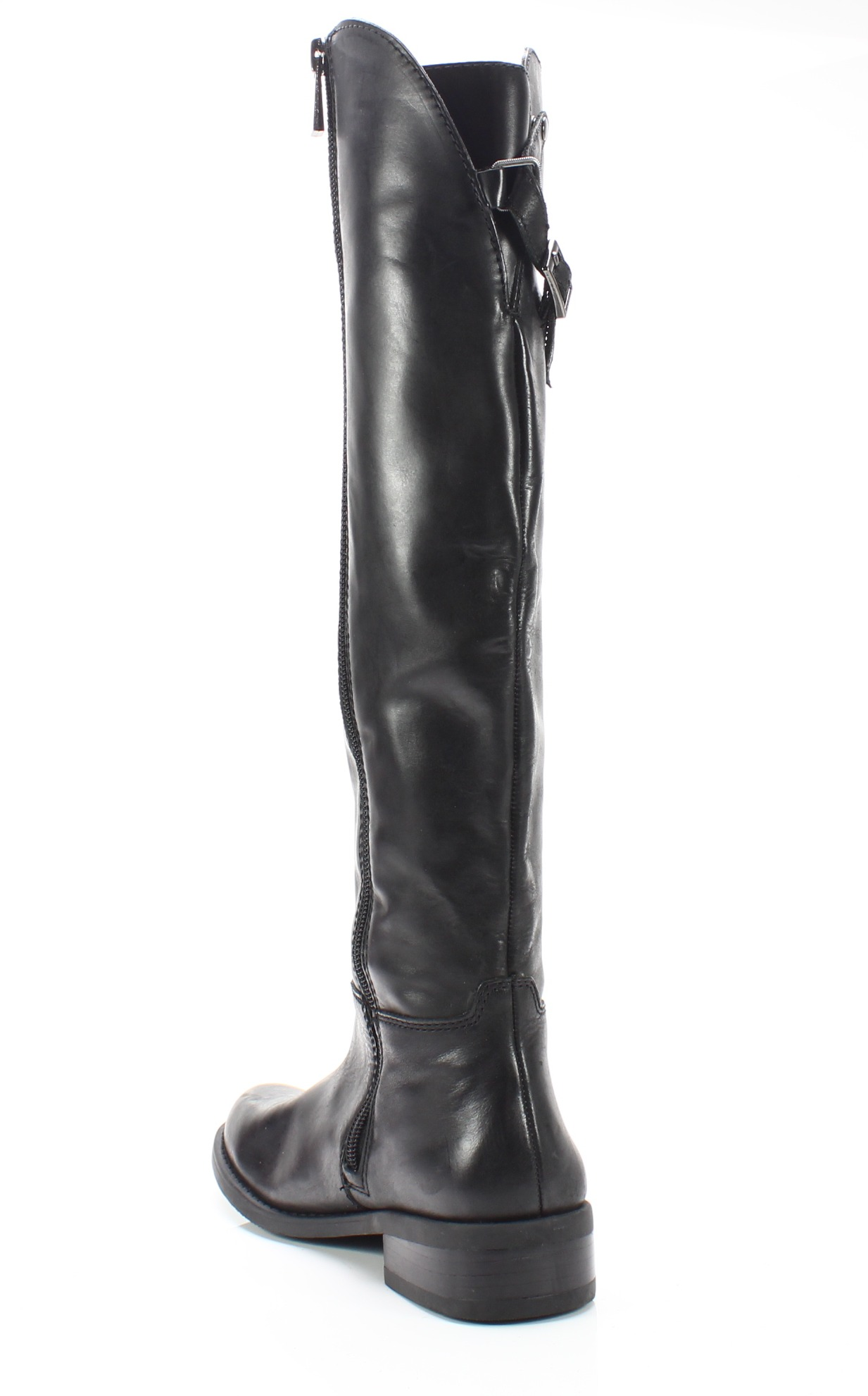 a000ce971d25 Vince Camuto NEW Black Women s Size 5M Kadia Leather Knee High Boots ...