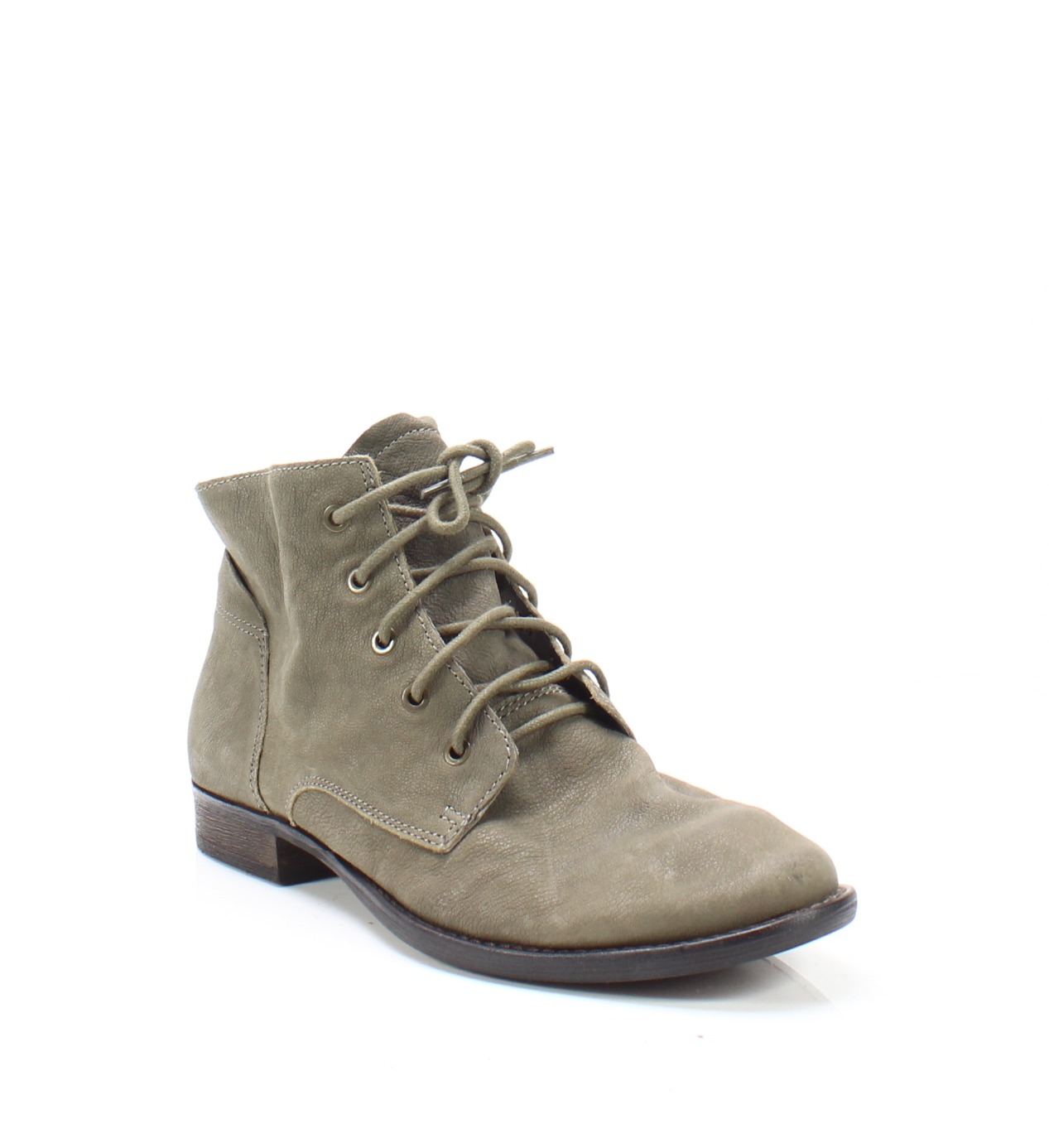 d968bfc67d032 Sam Edelman NEW Olive Green Women s Size 9.5M Mare Leather Booties  130-   079