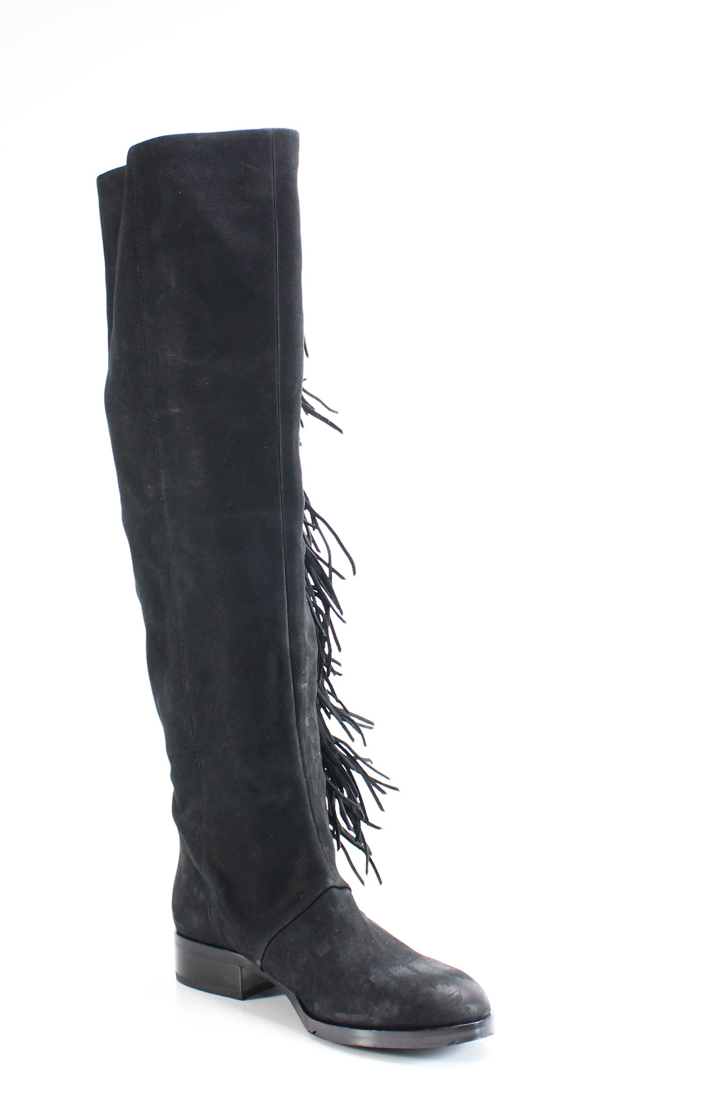 e62699ffe2f27 Details about Sam Edelman NEW Black Size 7.5M Josephine Knee High Boots  Leather  274-  084