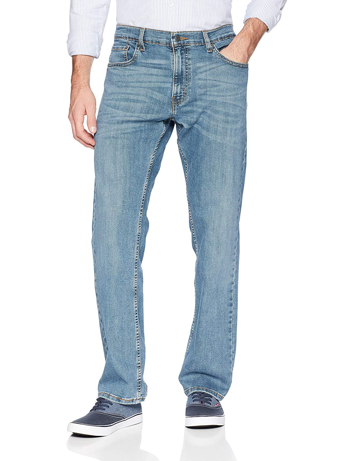 Signature-By-Levi-Strauss-amp-Co-Gold-Label-Titan-Blue-Men-Relaxed-Fit-Jeans