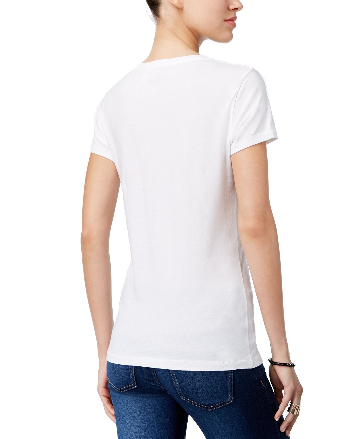 Levi-039-s-NEW-Two-Tone-Women-039-s-Classic-Batwing-Logo-Crewneck-Short-Sleeve-T-Shirt thumbnail 12