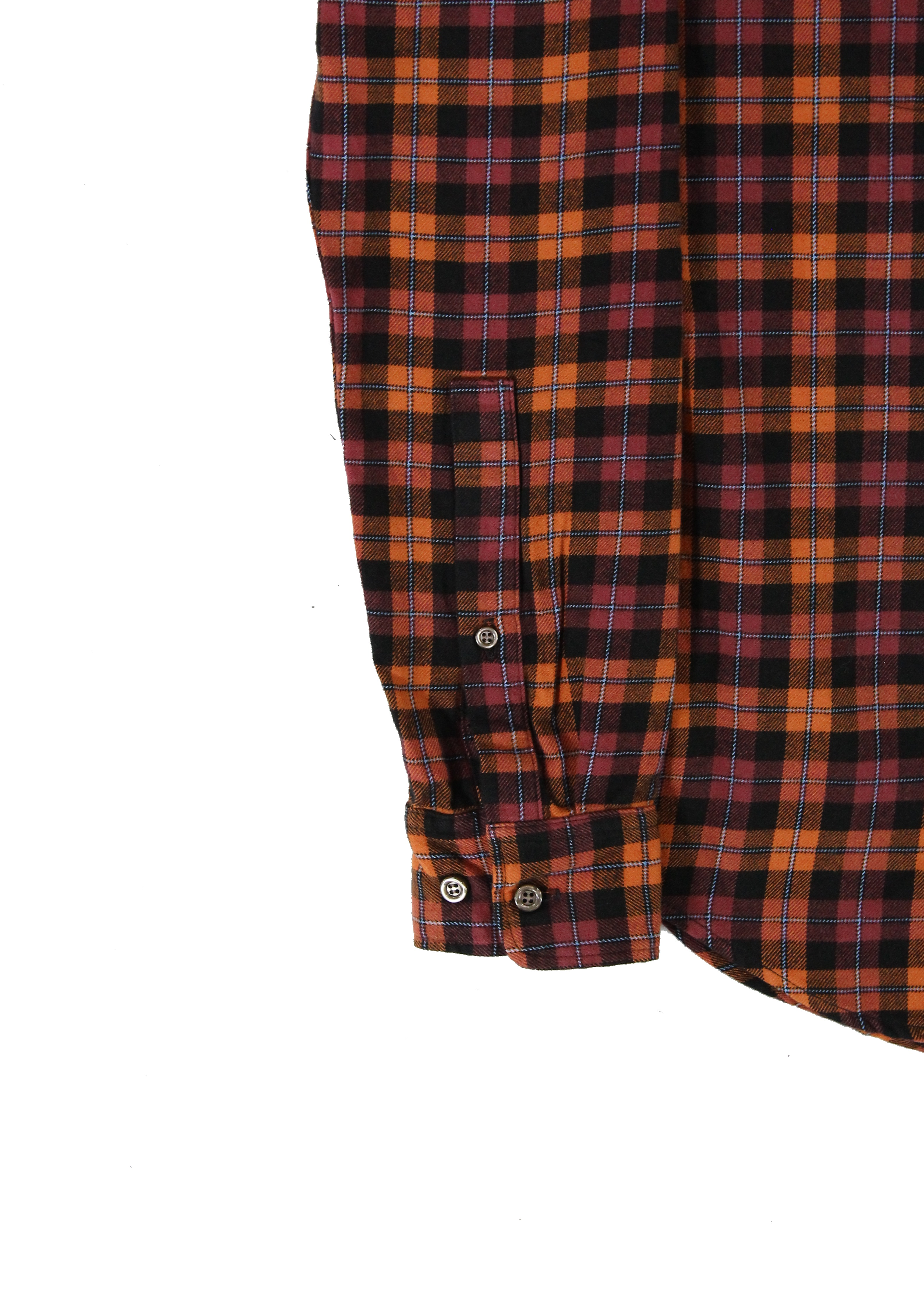 American-Apparel-NEW-Mens-Plaid-Flannel-Lumberjack-Classic-Fit-Button-Down-Shirt thumbnail 14