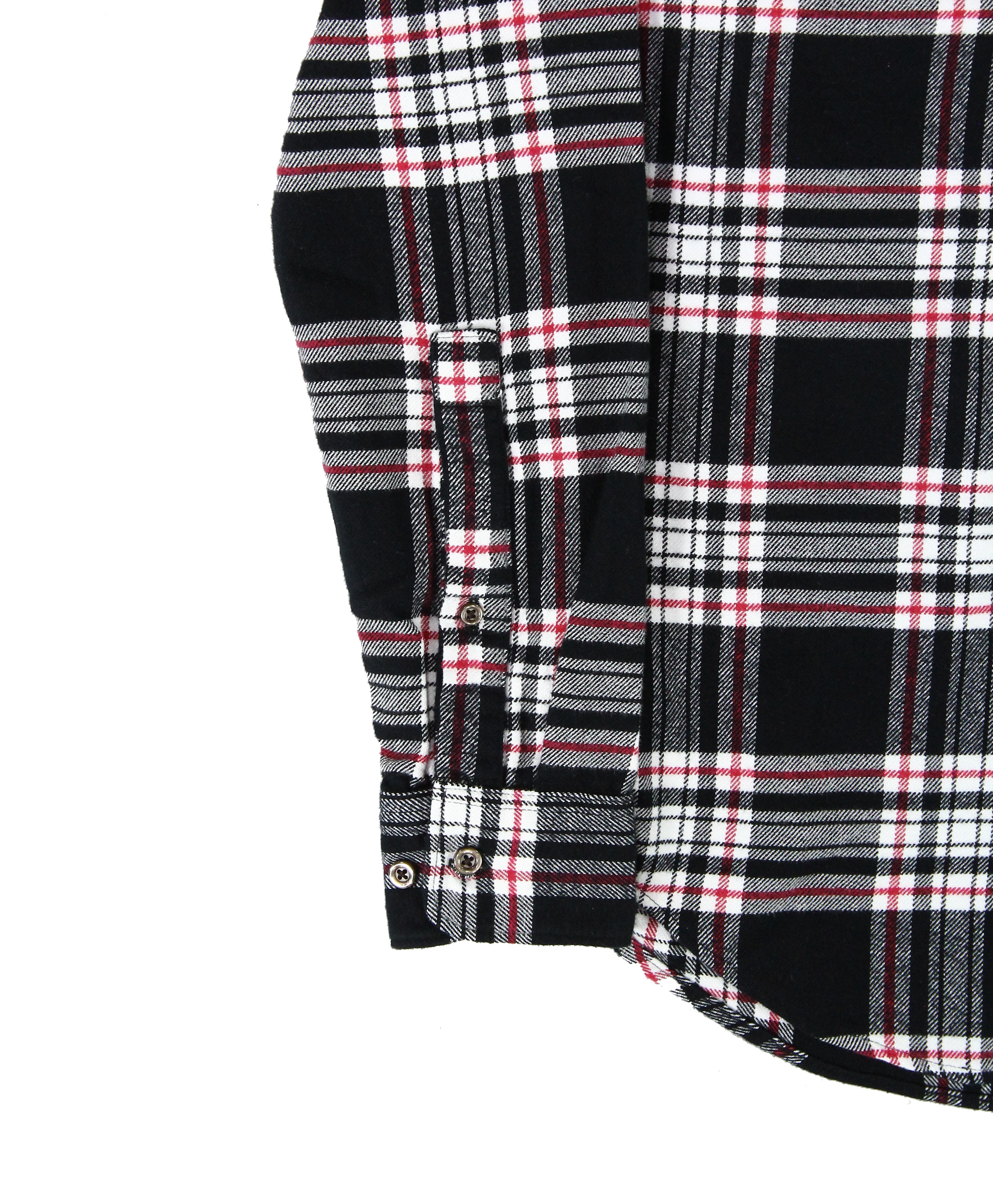American-Apparel-NEW-Mens-Plaid-Flannel-Lumberjack-Classic-Fit-Button-Down-Shirt thumbnail 4