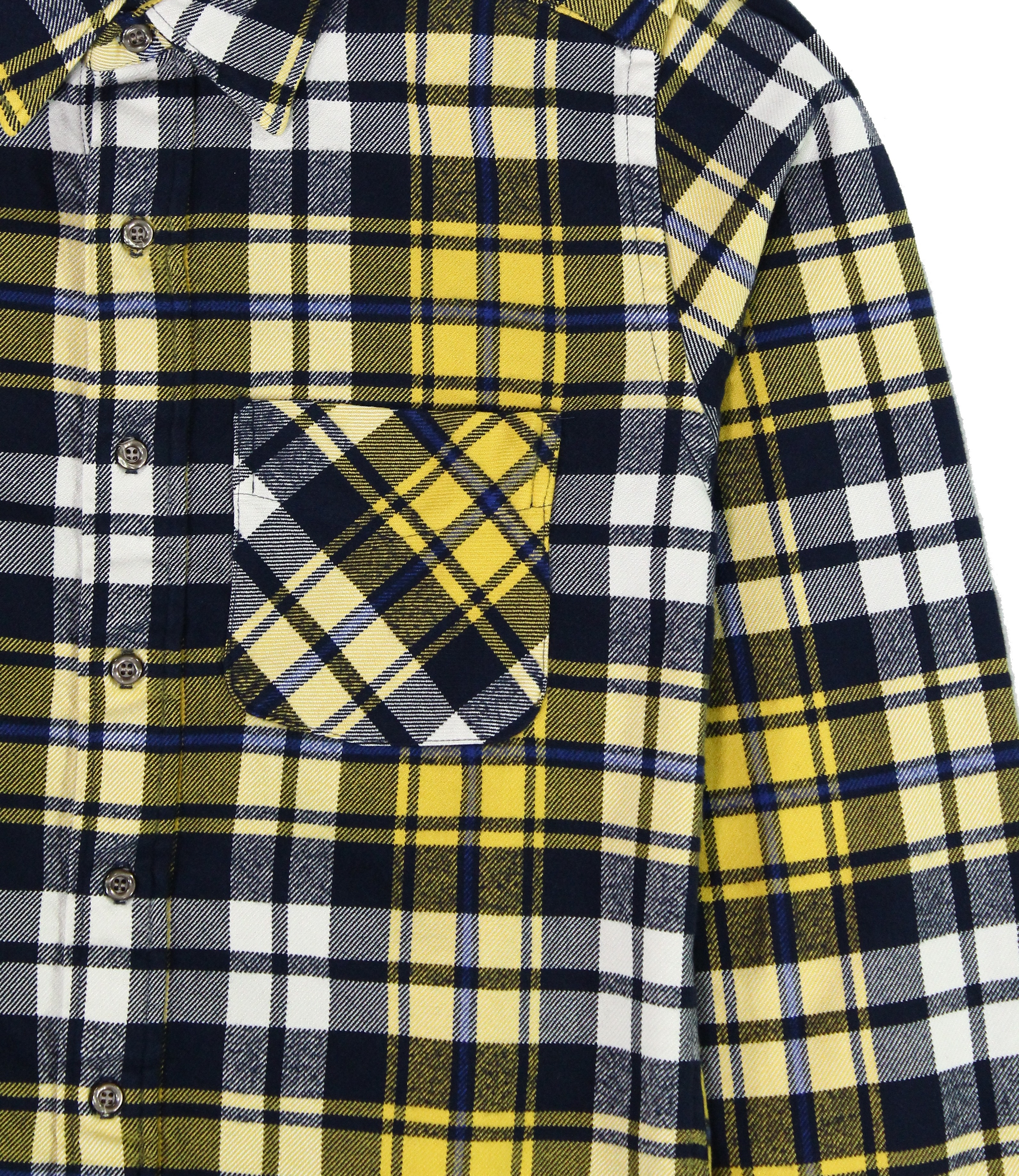 American-Apparel-NEW-Mens-Plaid-Flannel-Lumberjack-Classic-Fit-Button-Down-Shirt thumbnail 20