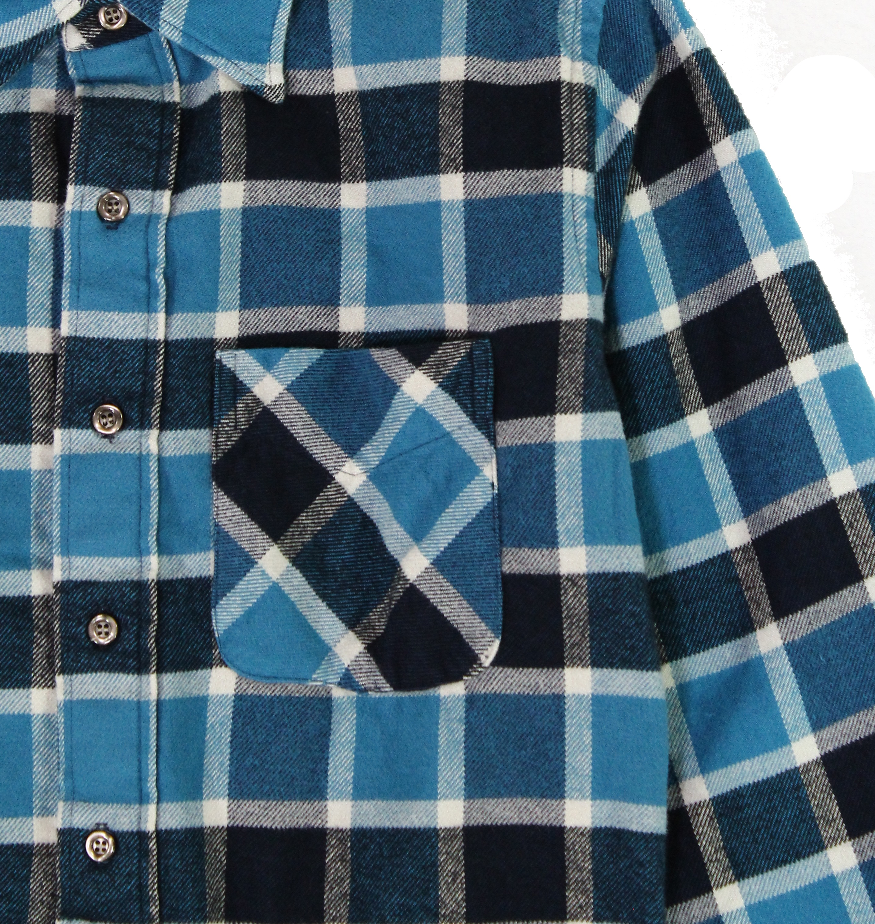 American-Apparel-NEW-Mens-Plaid-Flannel-Lumberjack-Classic-Fit-Button-Down-Shirt thumbnail 9