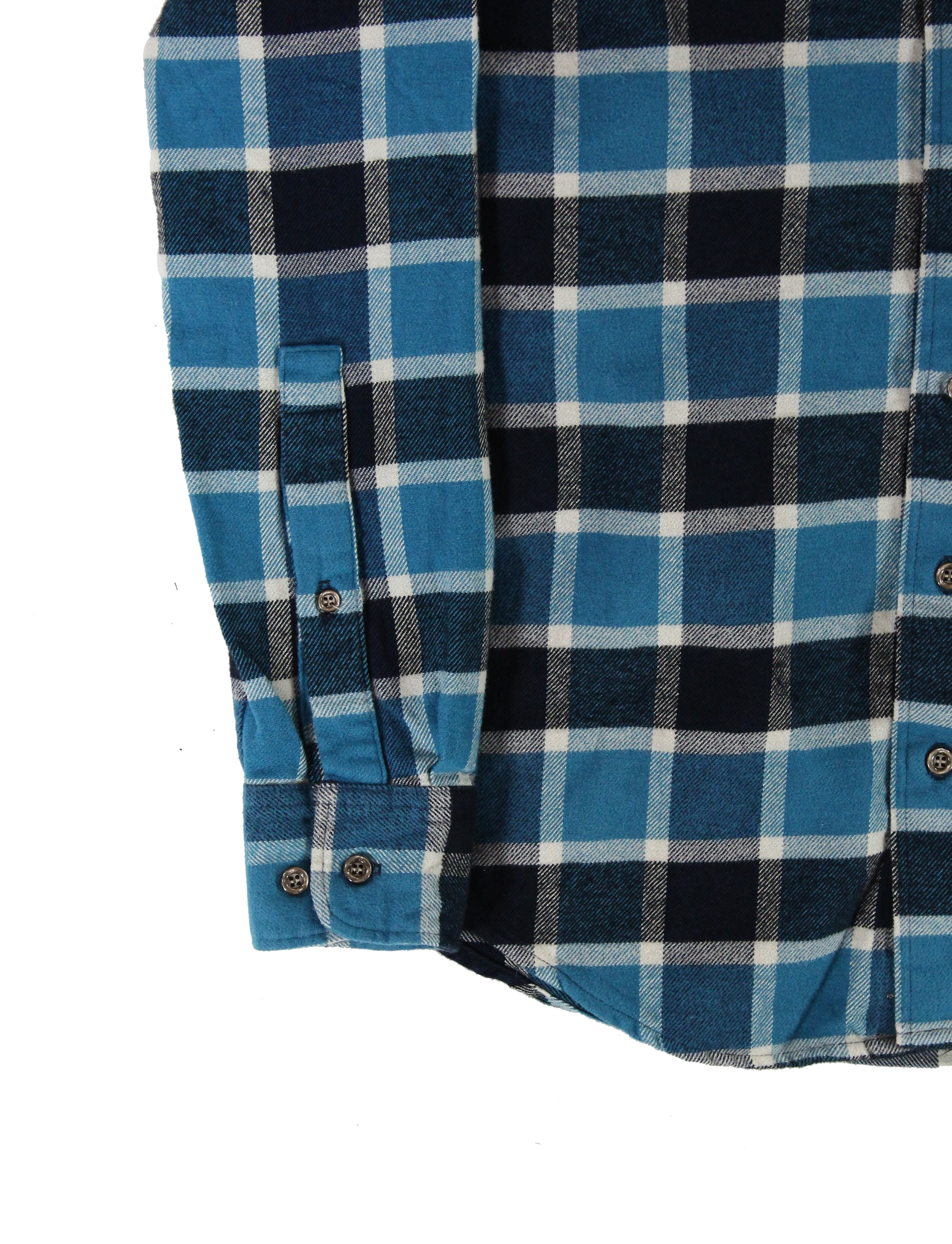 American-Apparel-NEW-Mens-Plaid-Flannel-Lumberjack-Classic-Fit-Button-Down-Shirt thumbnail 10