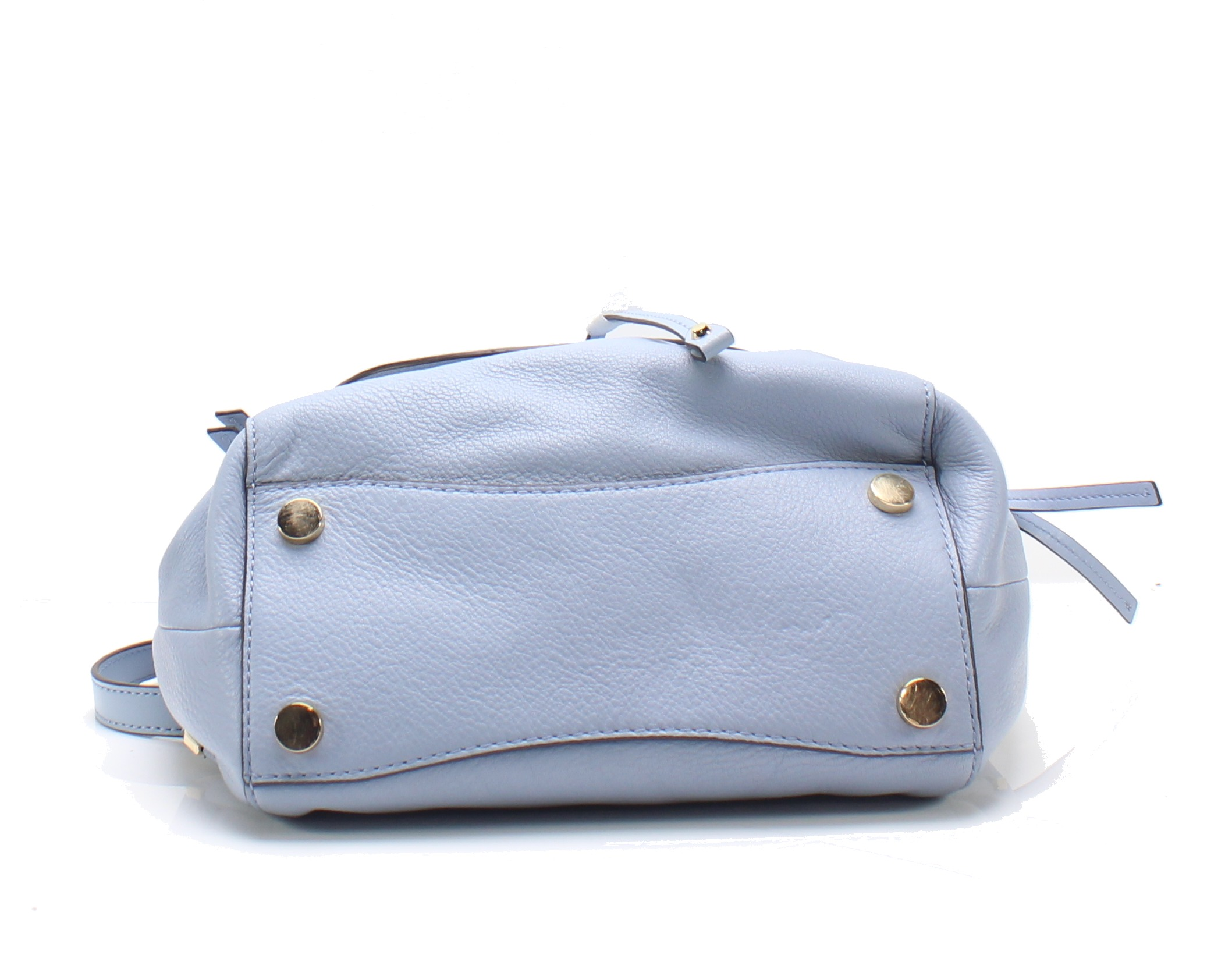 b0ee29a17279 Michael Kors NEW Pale Blue Evie Small Flower Garden Leather Backpack ...