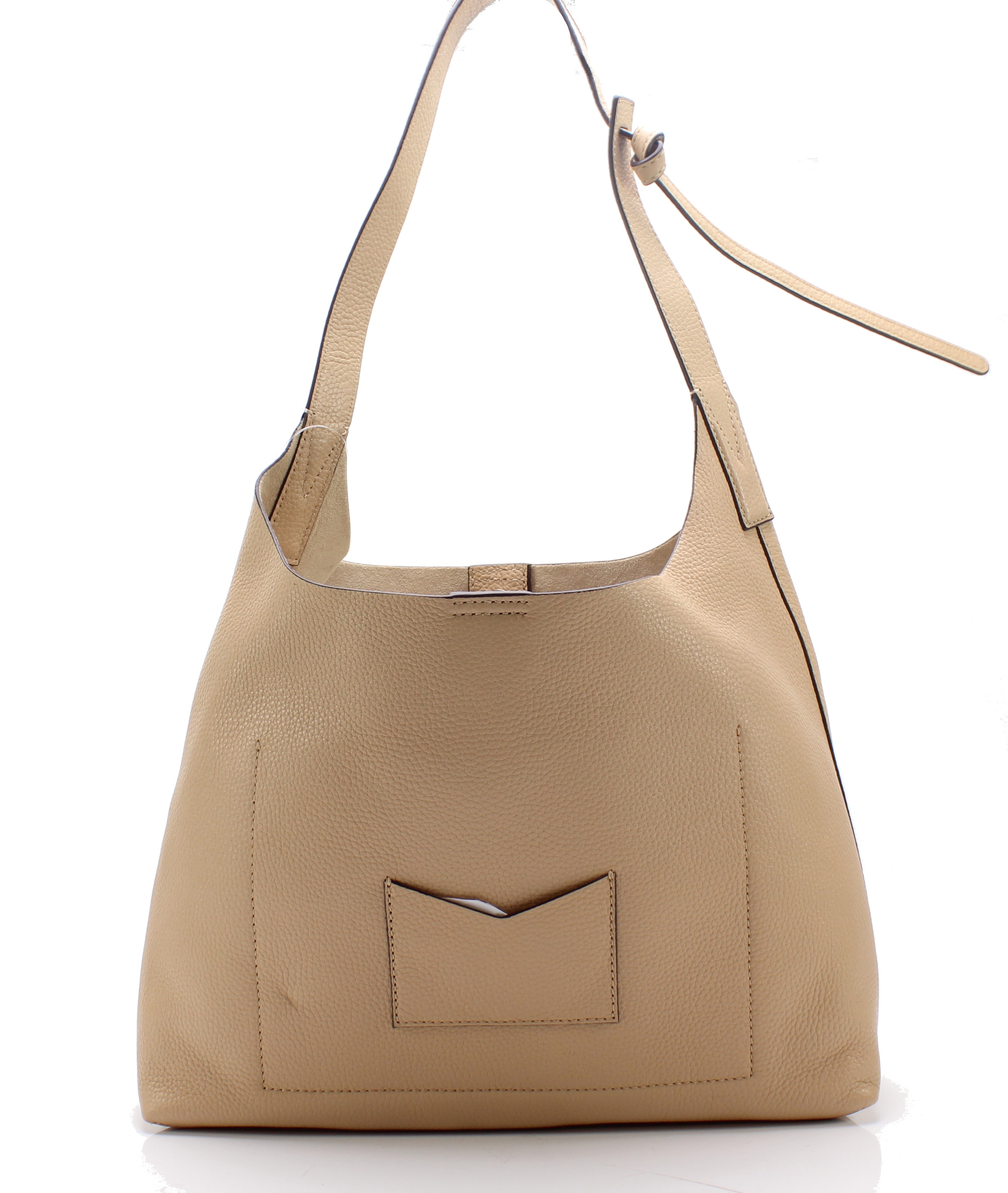 0f0f584f675f Michael Kors NEW Butternut Gold Junie Medium Leather Hobo Shoulder ...