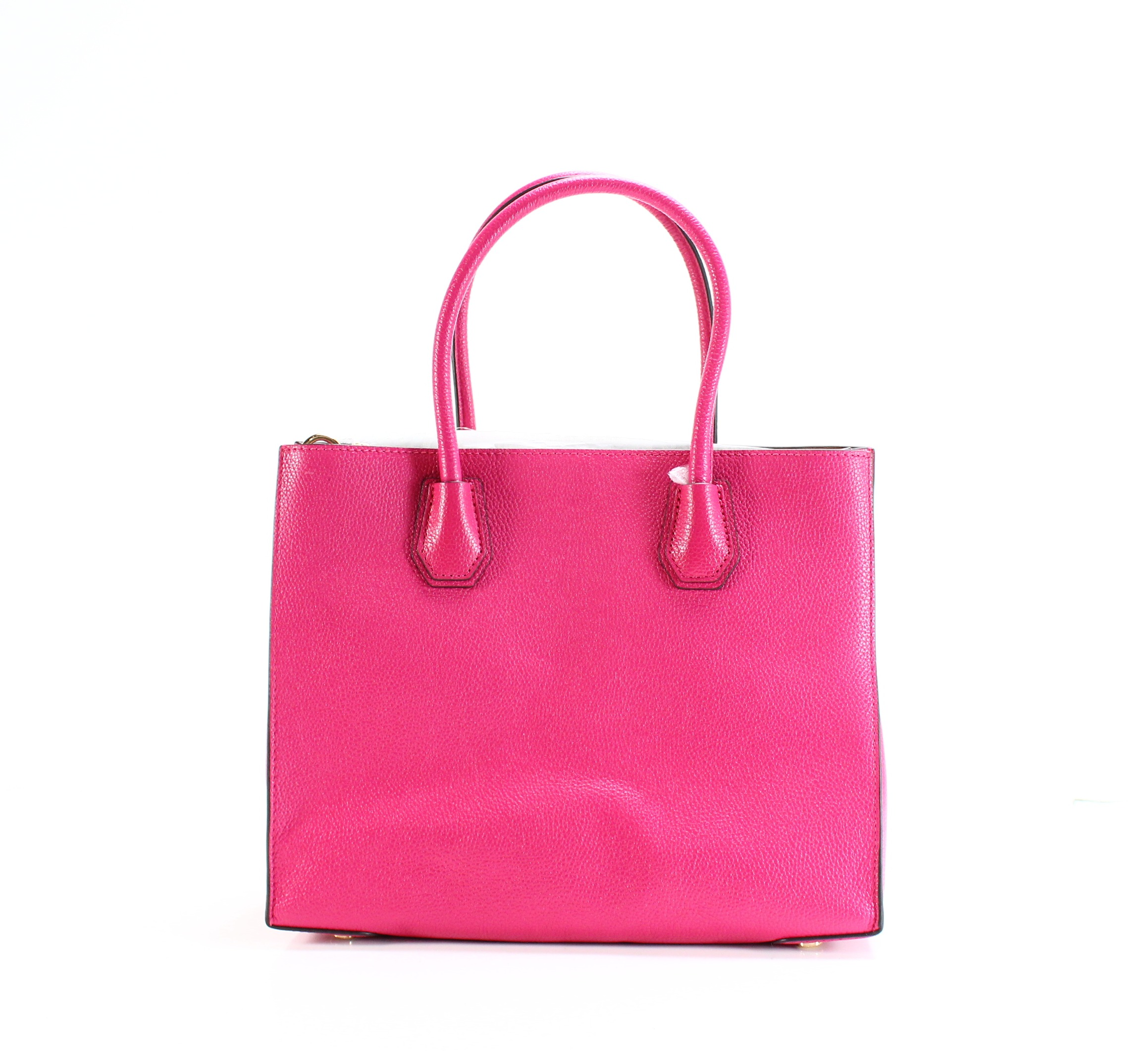 6fb8f37a3c Michael Kors NEW Ultra Pink Mercer Large Convertible Tote Leather ...