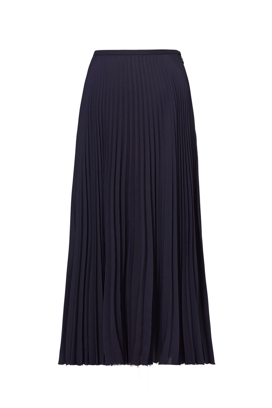 a68a2797b Details about Vince Navy Blue Women's Size 2 Pleated Seamed A-Line Solid  Skirt $265- #736