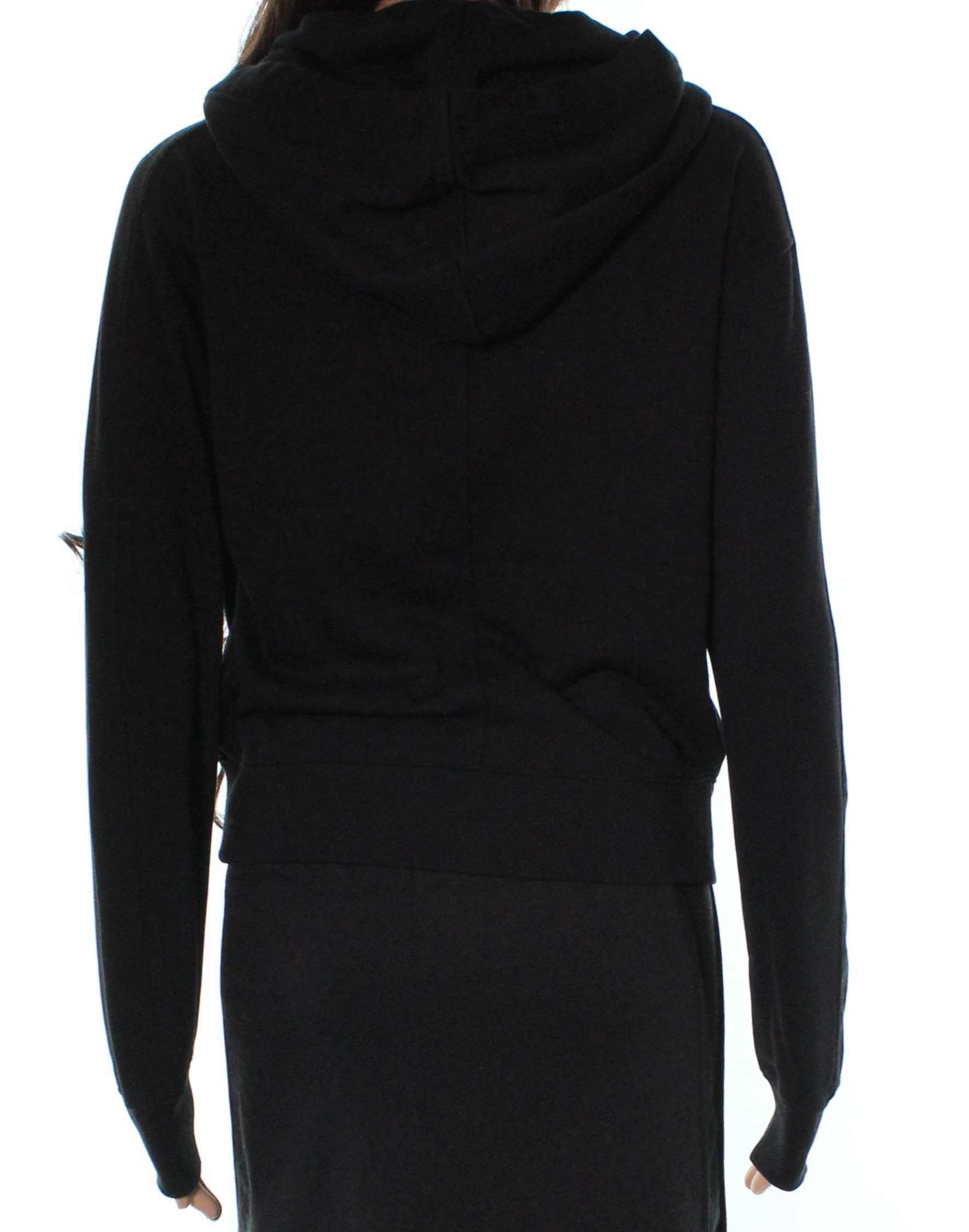 af2da8397ac Details about Vince NEW Black Full Zip Long Sleeve Women s Size XS Hoodie  Sweater  225  549