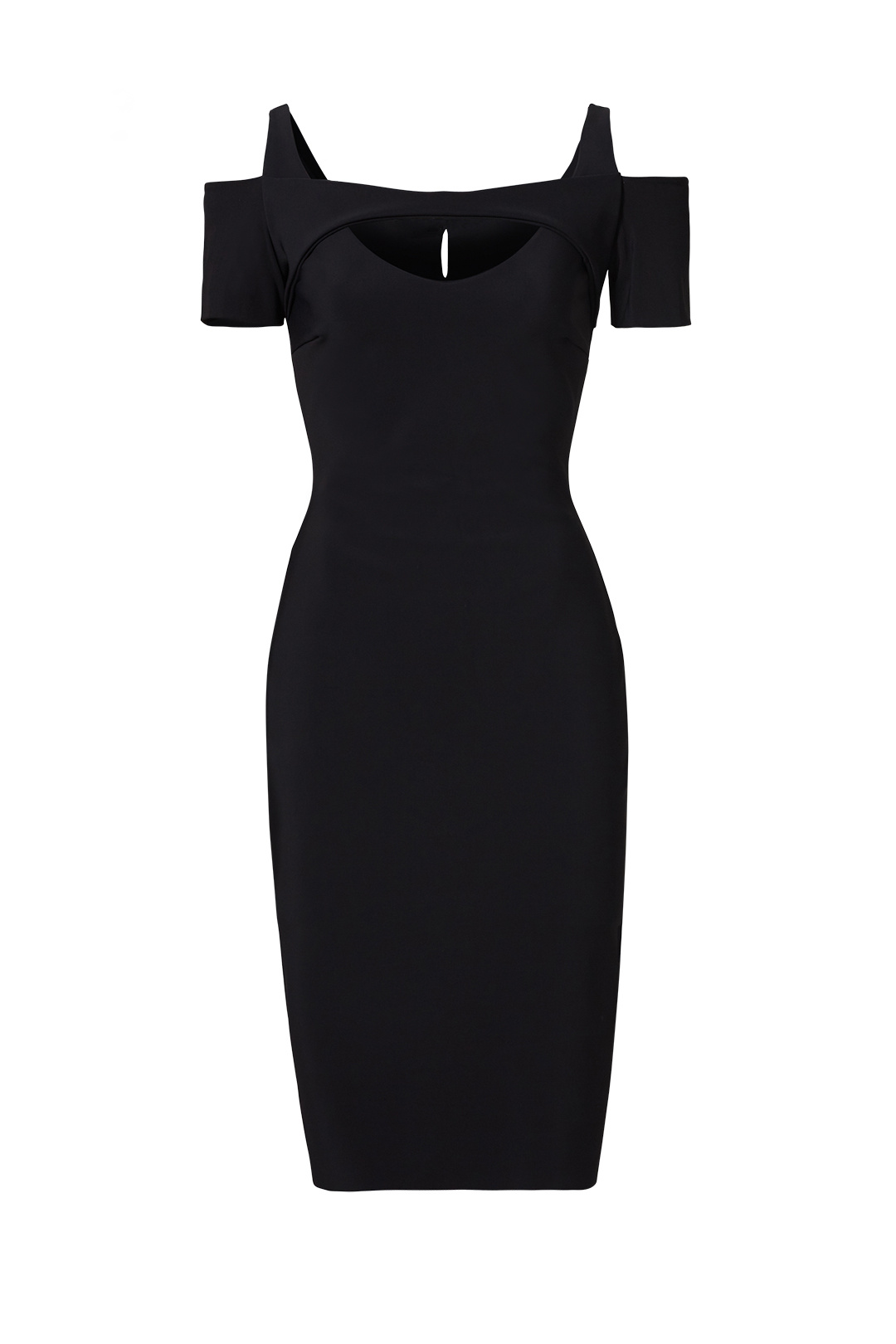ac365e91 Details about La Petite Robe di Chiara Boni Black Women's 42 Cutout Sheath  Dress $590- #268