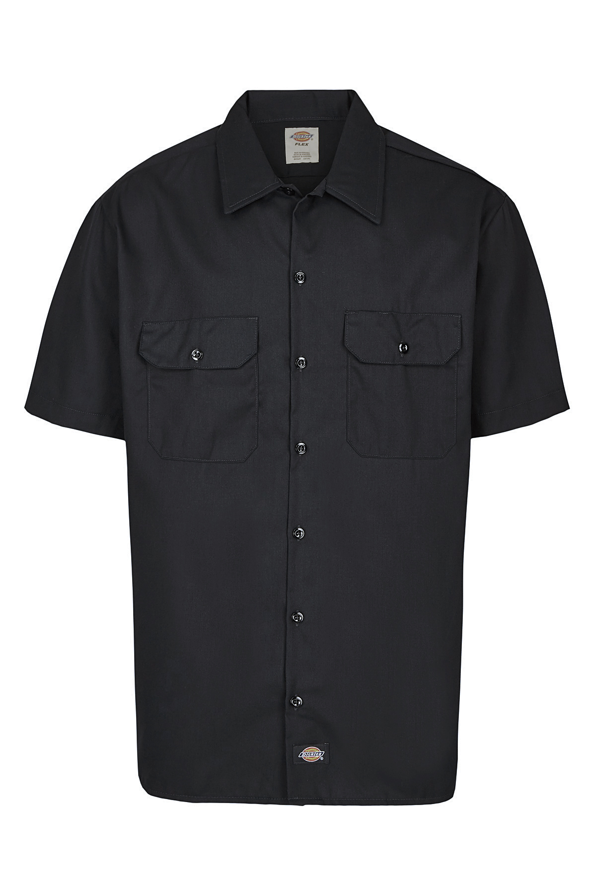 Dickies-NEW-Mens-Button-Down-Twill-Flex-Wrinkle-Resistant-Industrial-Work-Shirt thumbnail 4