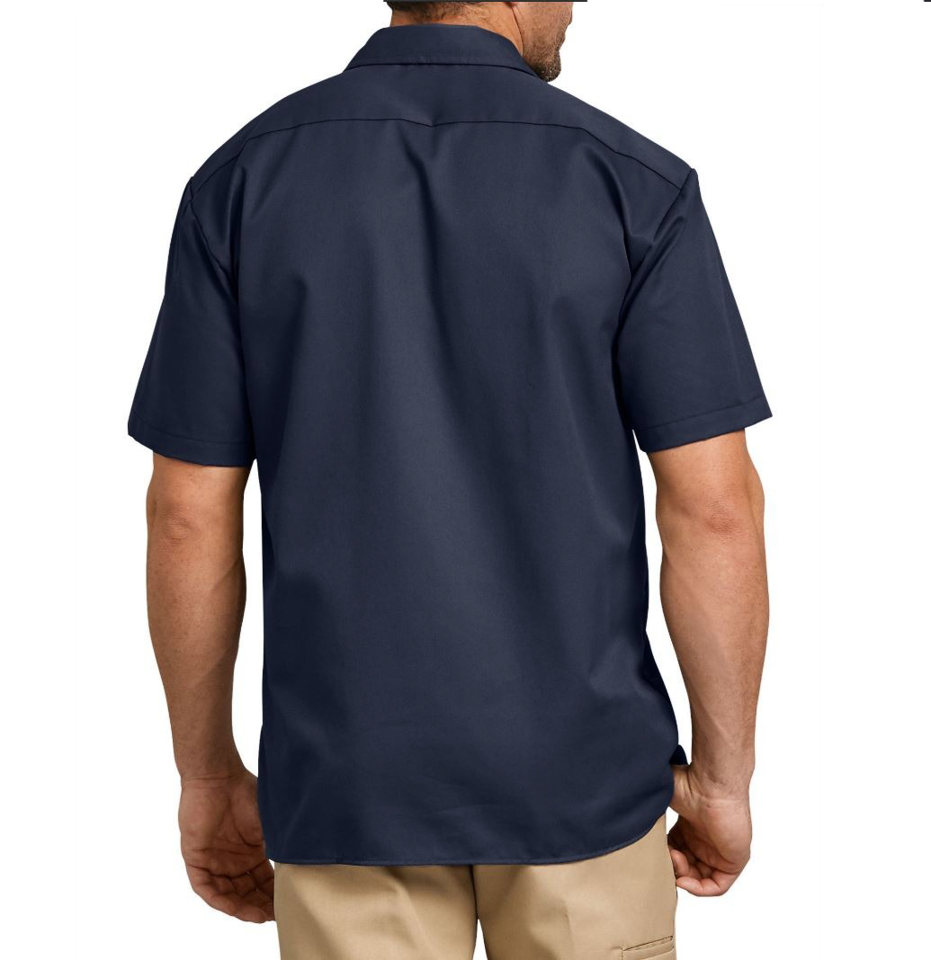 Dickies-NEW-Mens-Button-Down-Twill-Flex-Wrinkle-Resistant-Industrial-Work-Shirt thumbnail 7