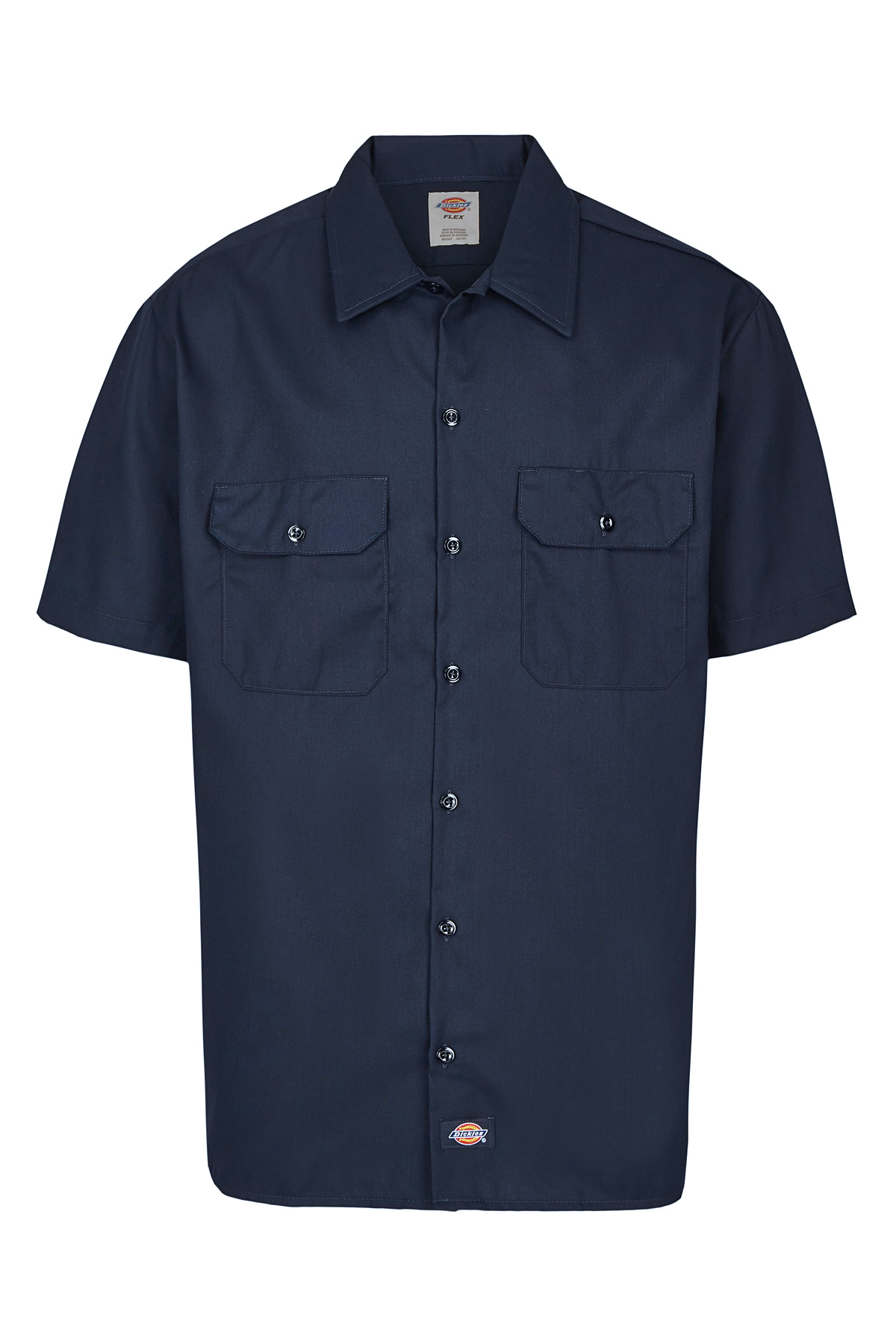 Dickies-NEW-Mens-Button-Down-Twill-Flex-Wrinkle-Resistant-Industrial-Work-Shirt thumbnail 8