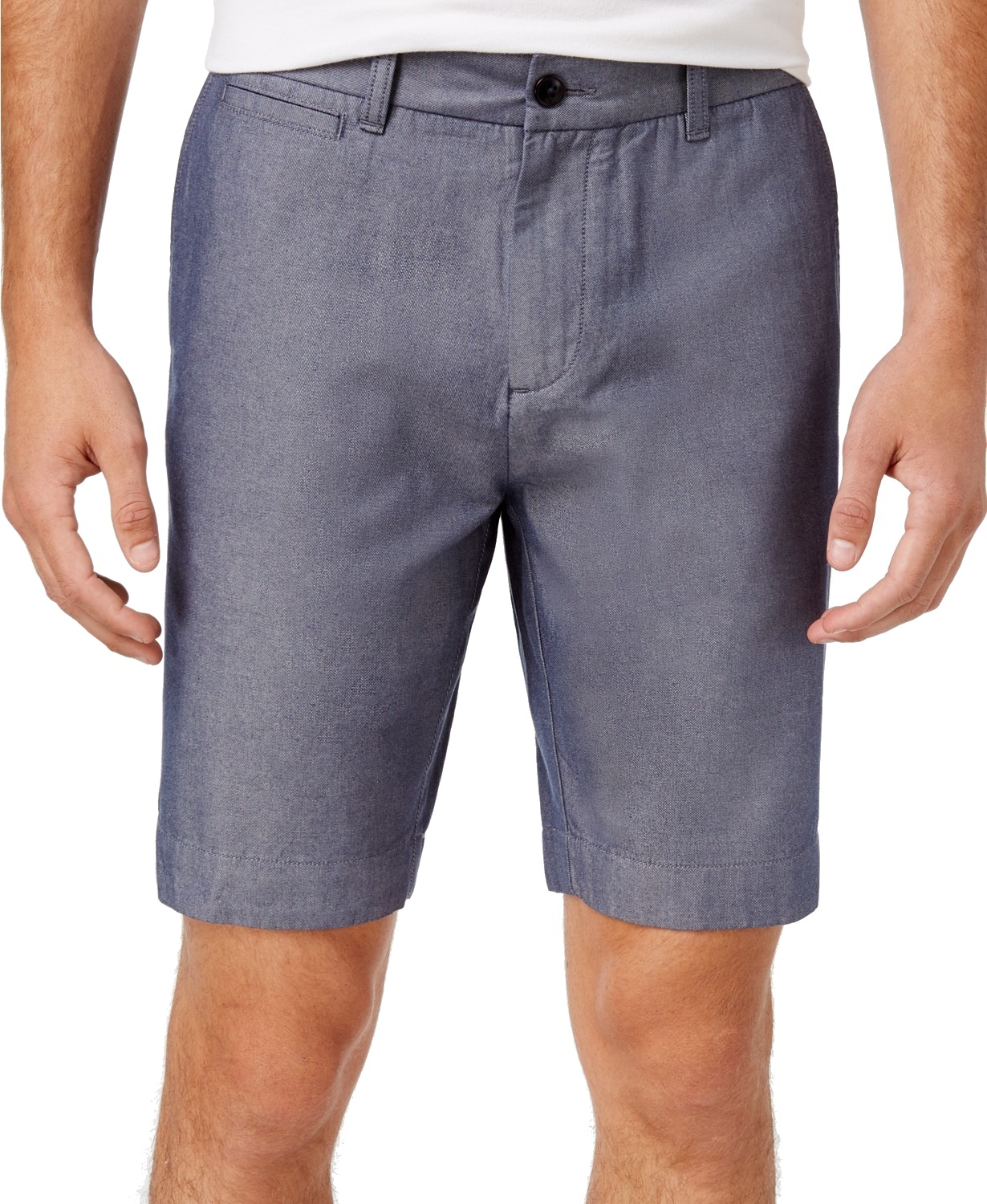 Tommy-Hilfiger-NEW-Blue-Mens-Size-36-Flat-Front-Khakis-Chinos-Shorts