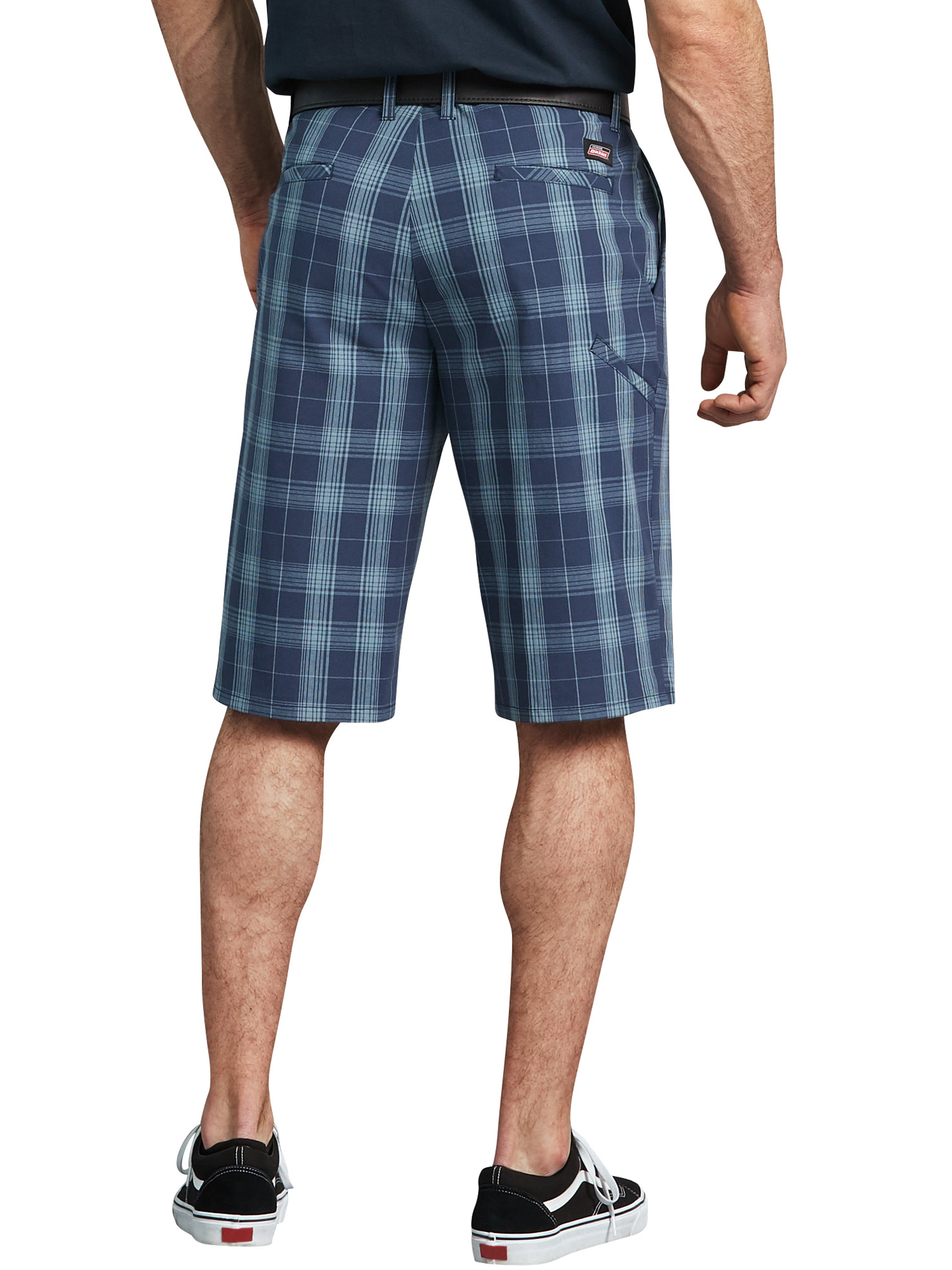Dickies NEW Men/'s Classic Fit Flex Fabric Comfort Plaid Printed Shorts