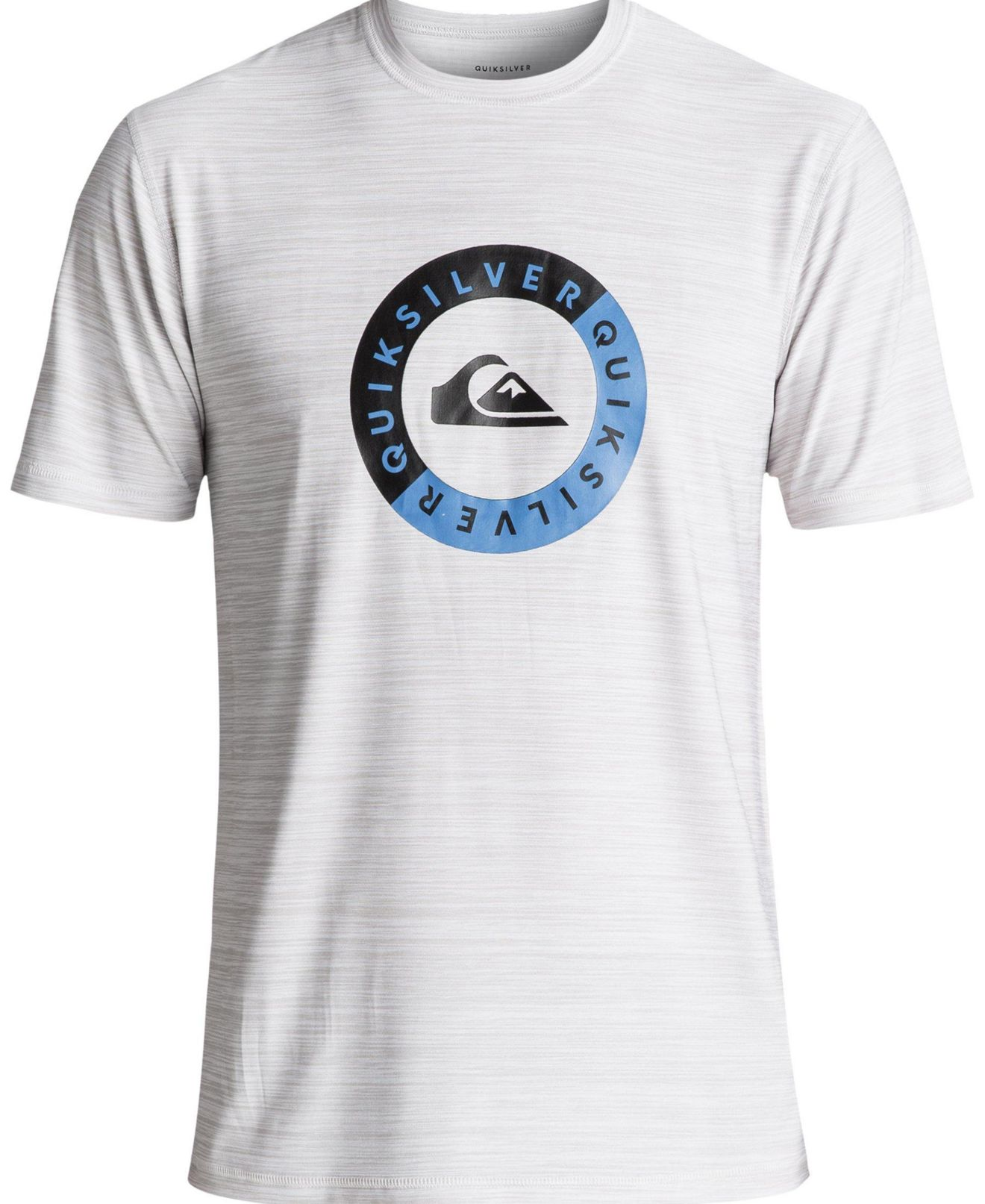 New-Quiksilver-Mens-Gray-Blue-Size-Large-L-Graphic-Crewneck-Tee-T-Shirt-30-232