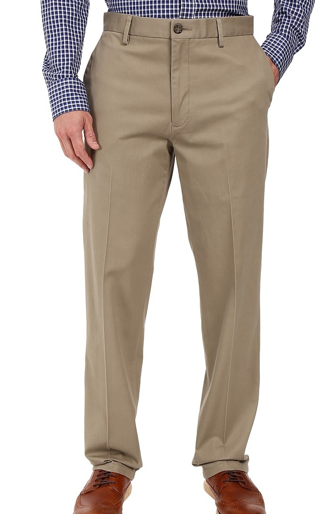 Dockers-Mens-Pants-Beige-Size-34X32-Slim-Tapered-Khakis-Chinos-Stretch